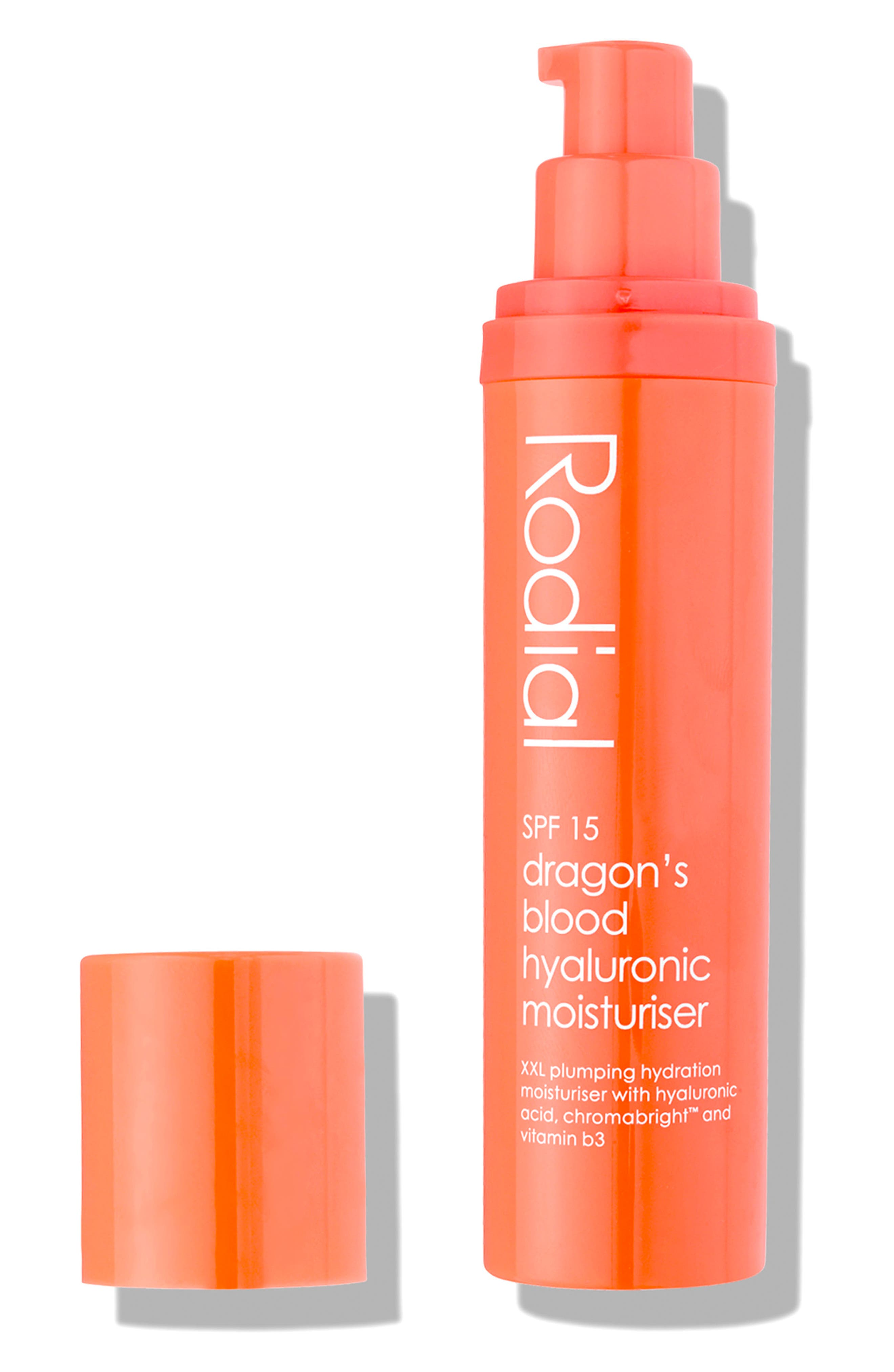 SPACE.NK.apothecary Rodial Dragon's Blood Hyaluronic Moisturizer SPF 15,                             Alternate thumbnail 3, color,                             NO COLOR