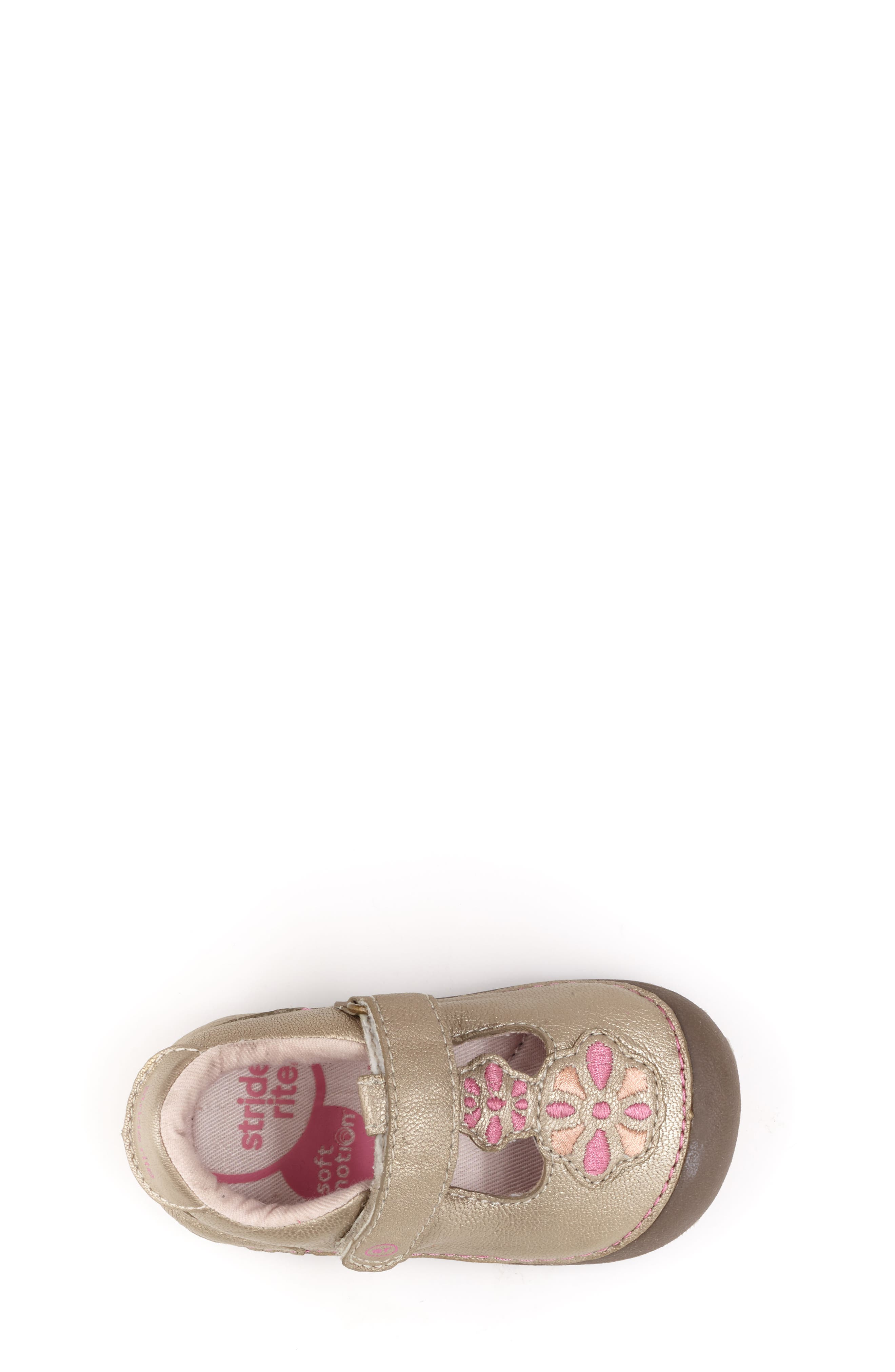 Soft Motion<sup>™</sup> Kelly Sneaker,                             Alternate thumbnail 5, color,                             CHAMPAGNE