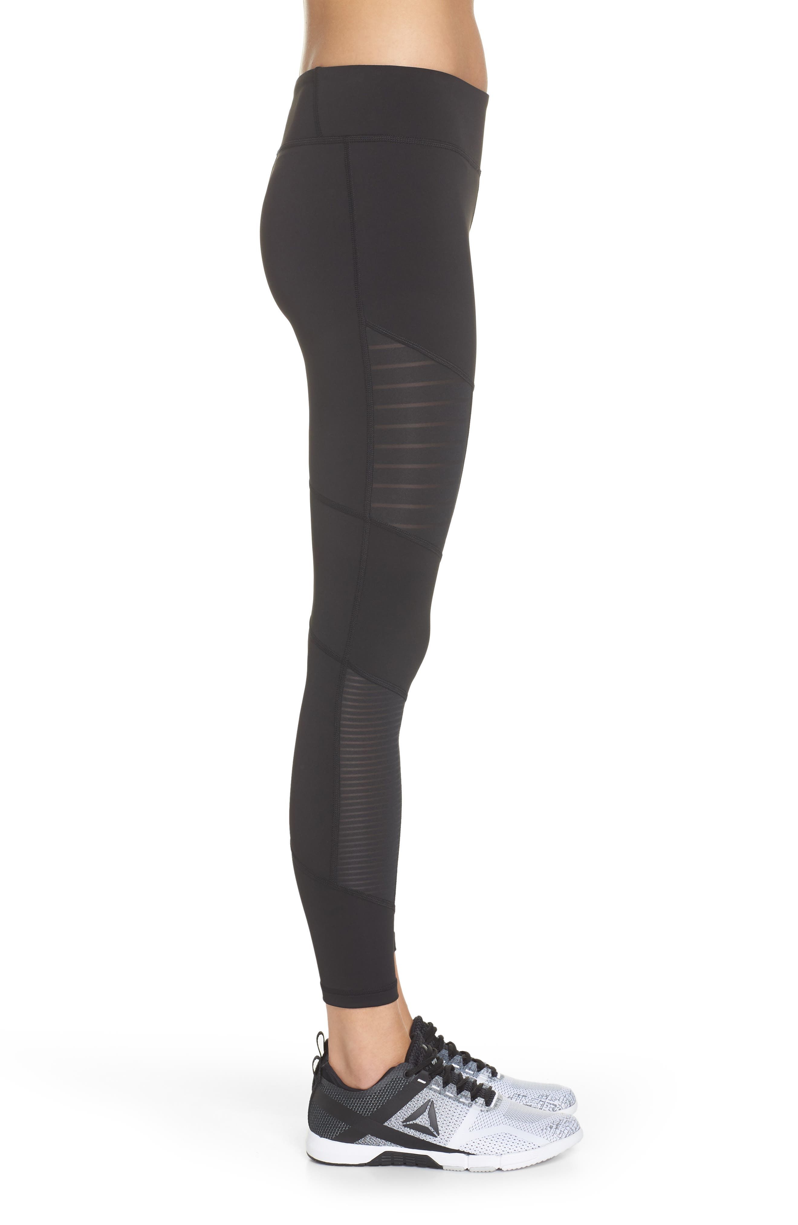 Mesh Leggings,                             Alternate thumbnail 3, color,                             005