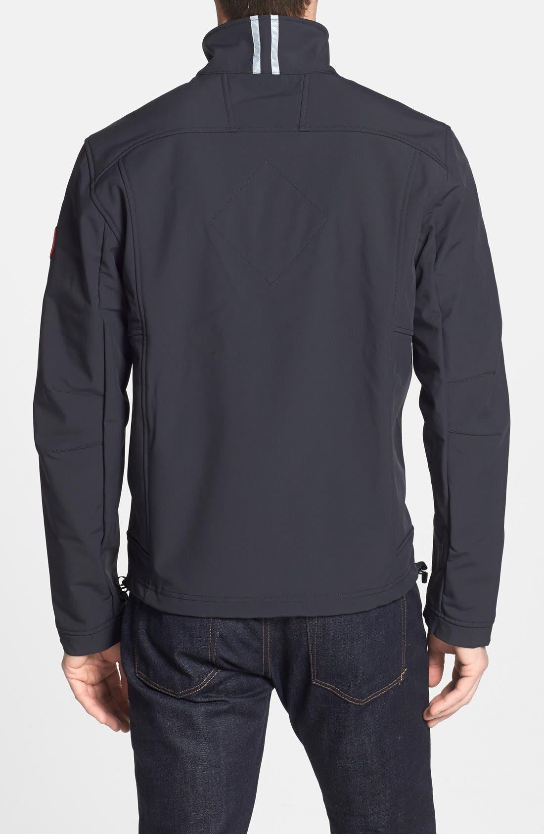 'Bracebridge' Water Resistant Jacket,                             Alternate thumbnail 3, color,                             001