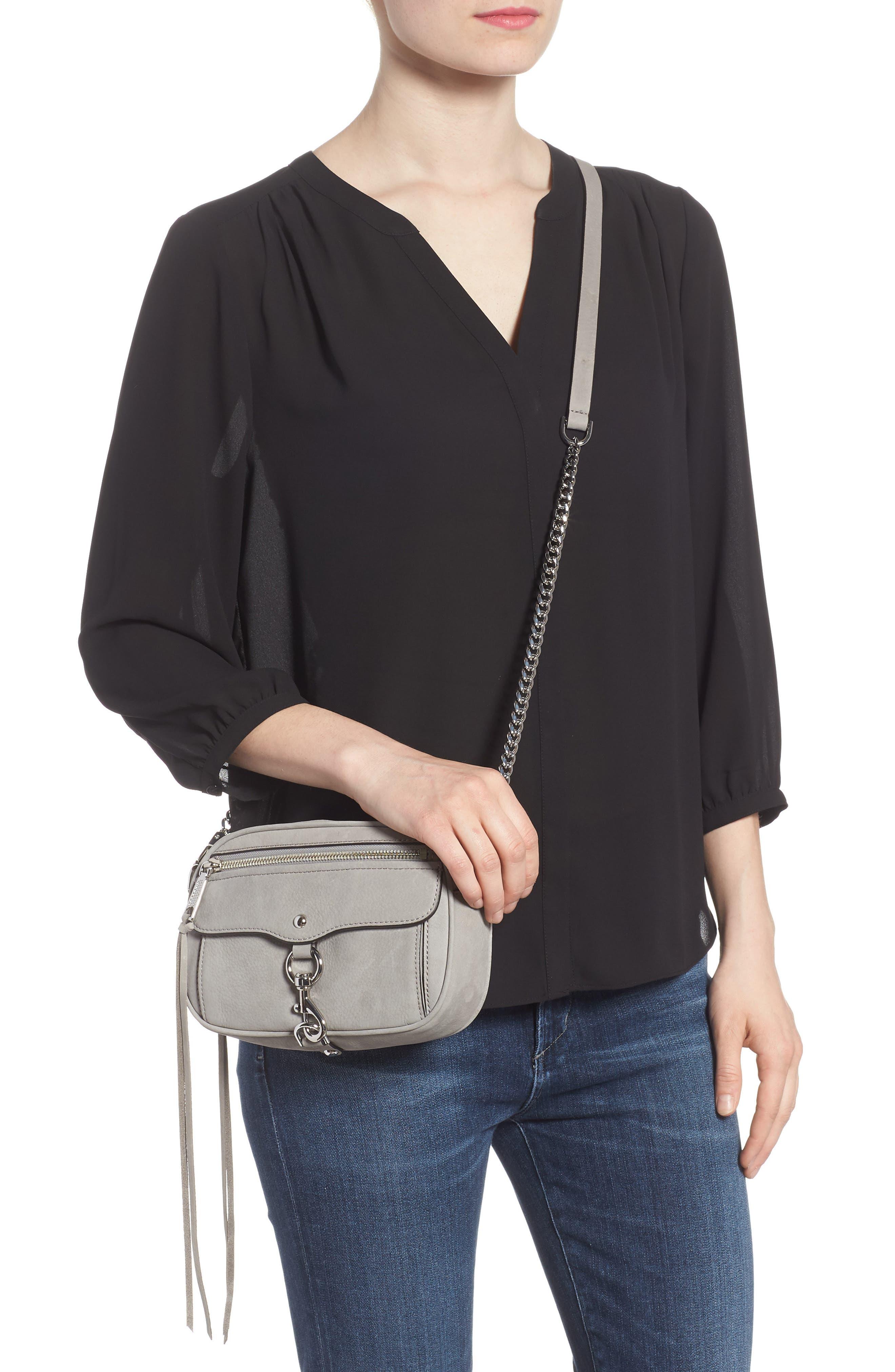 REBECCA MINKOFF,                             Blythe Leather Crossbody Bag,                             Alternate thumbnail 2, color,                             020