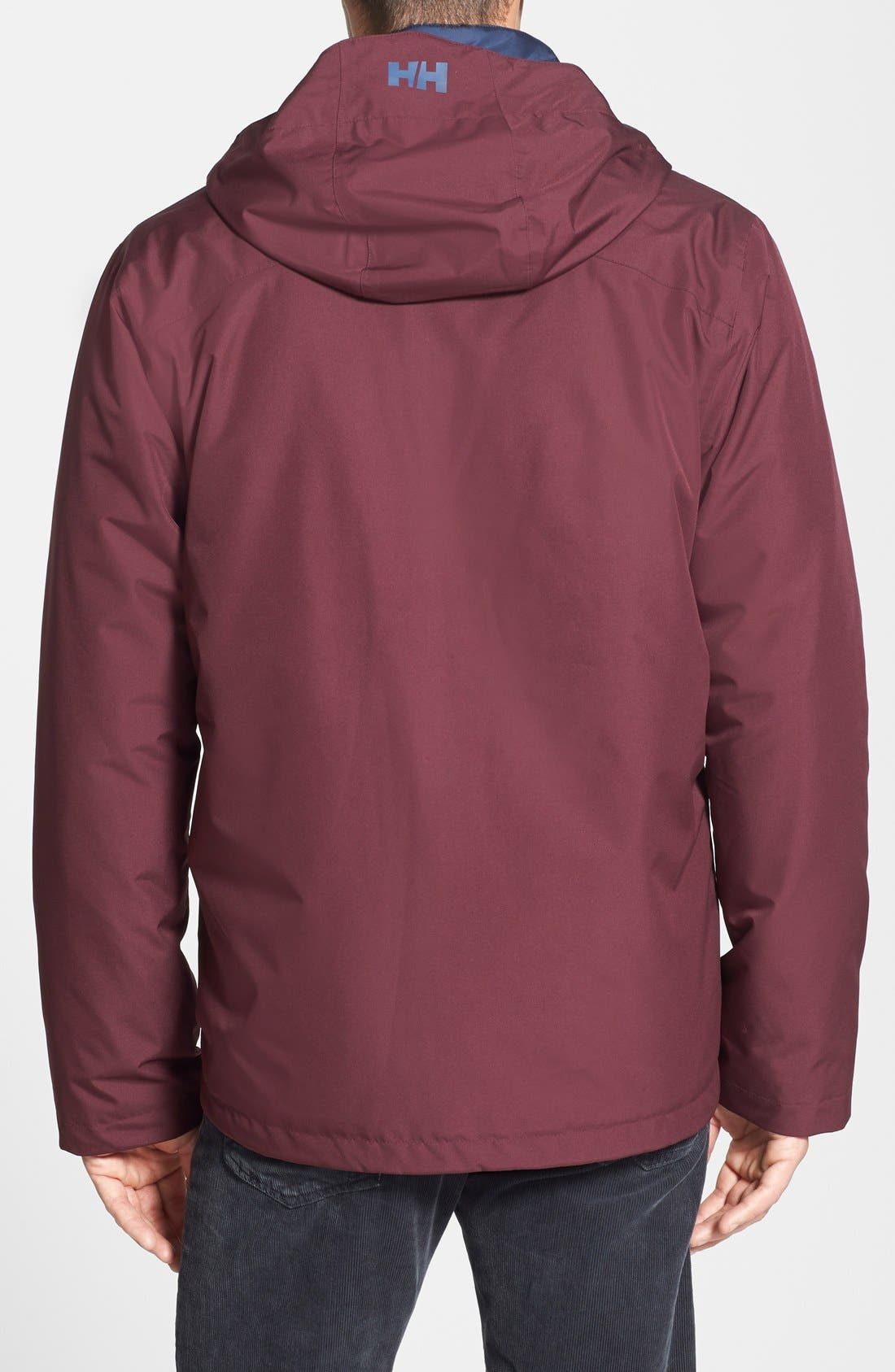 Squamish 3-in-1 Water Repellent Hooded Jacket,                             Alternate thumbnail 27, color,