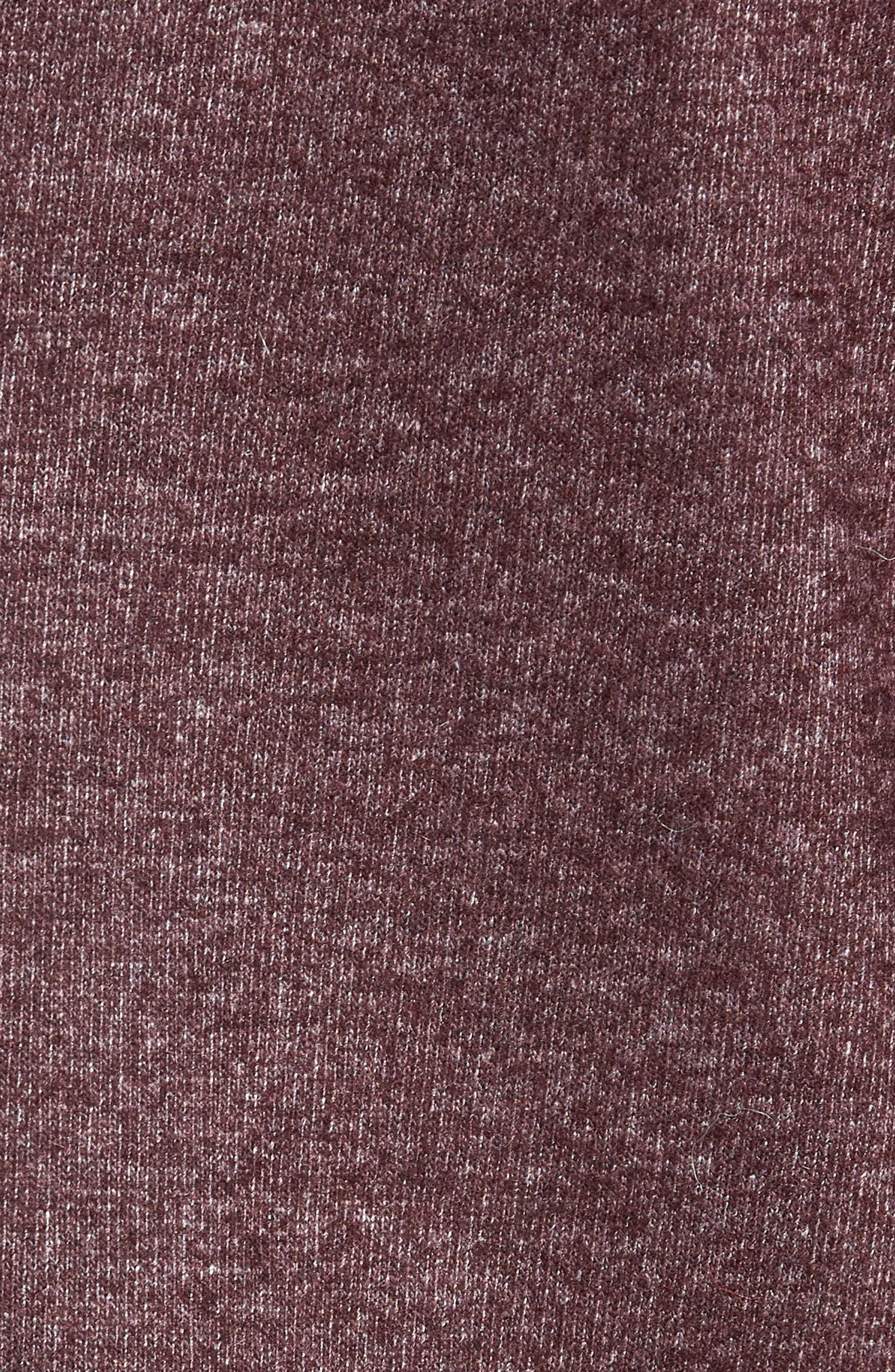 Regular Fit Knit Wool Blend Sport Coat,                             Alternate thumbnail 6, color,                             PORT
