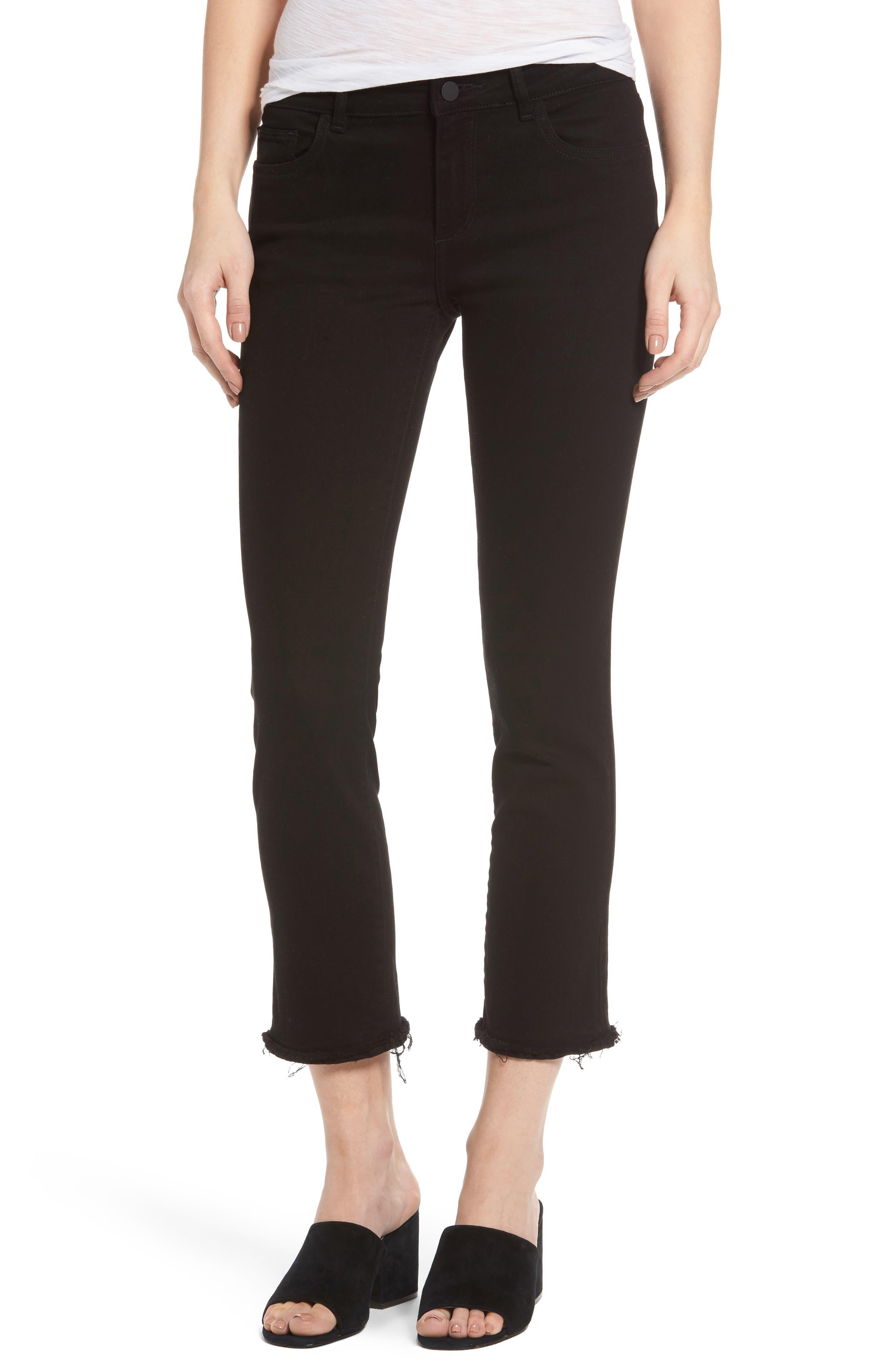 Mara Straight Leg Jeans,                         Main,                         color, 001