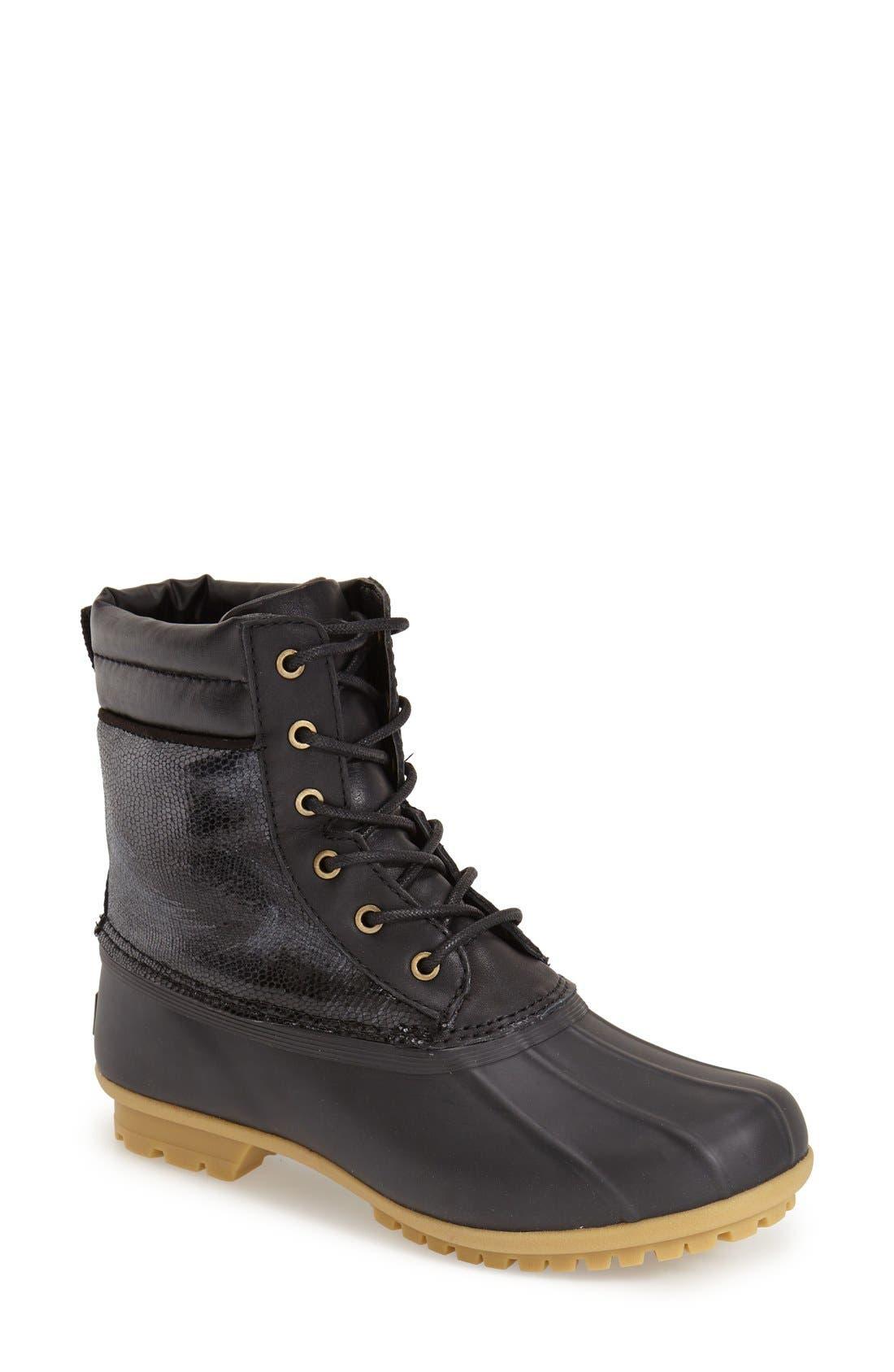 'Caldwell' Rain Boot, Main, color, 001