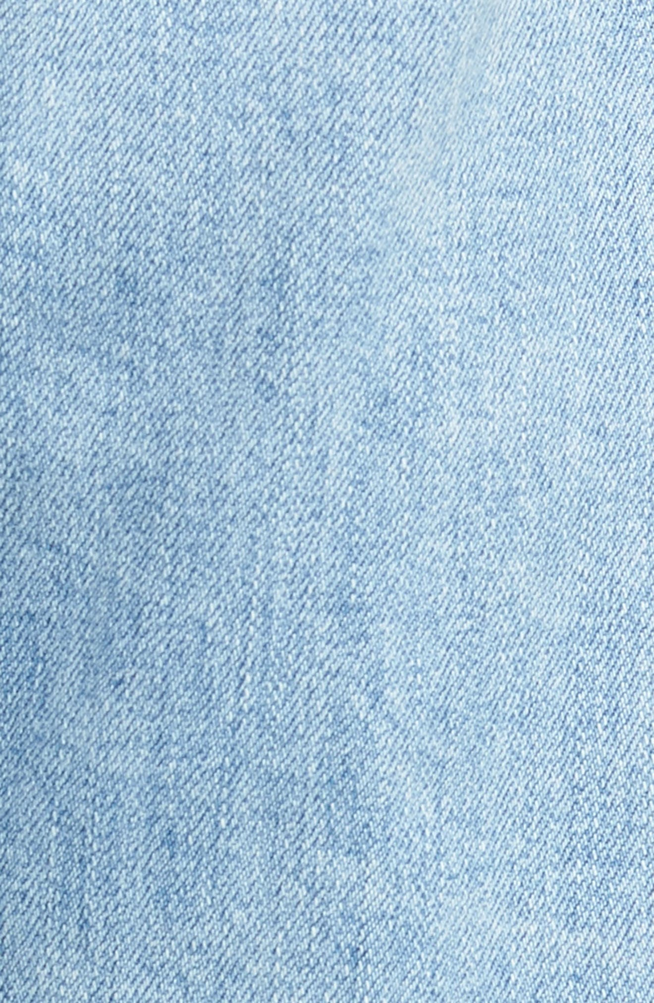 CITIZENS OF HUMANITY,                             Emerson Ripped Crop Slim Boyfriend Jeans,                             Alternate thumbnail 6, color,                             455