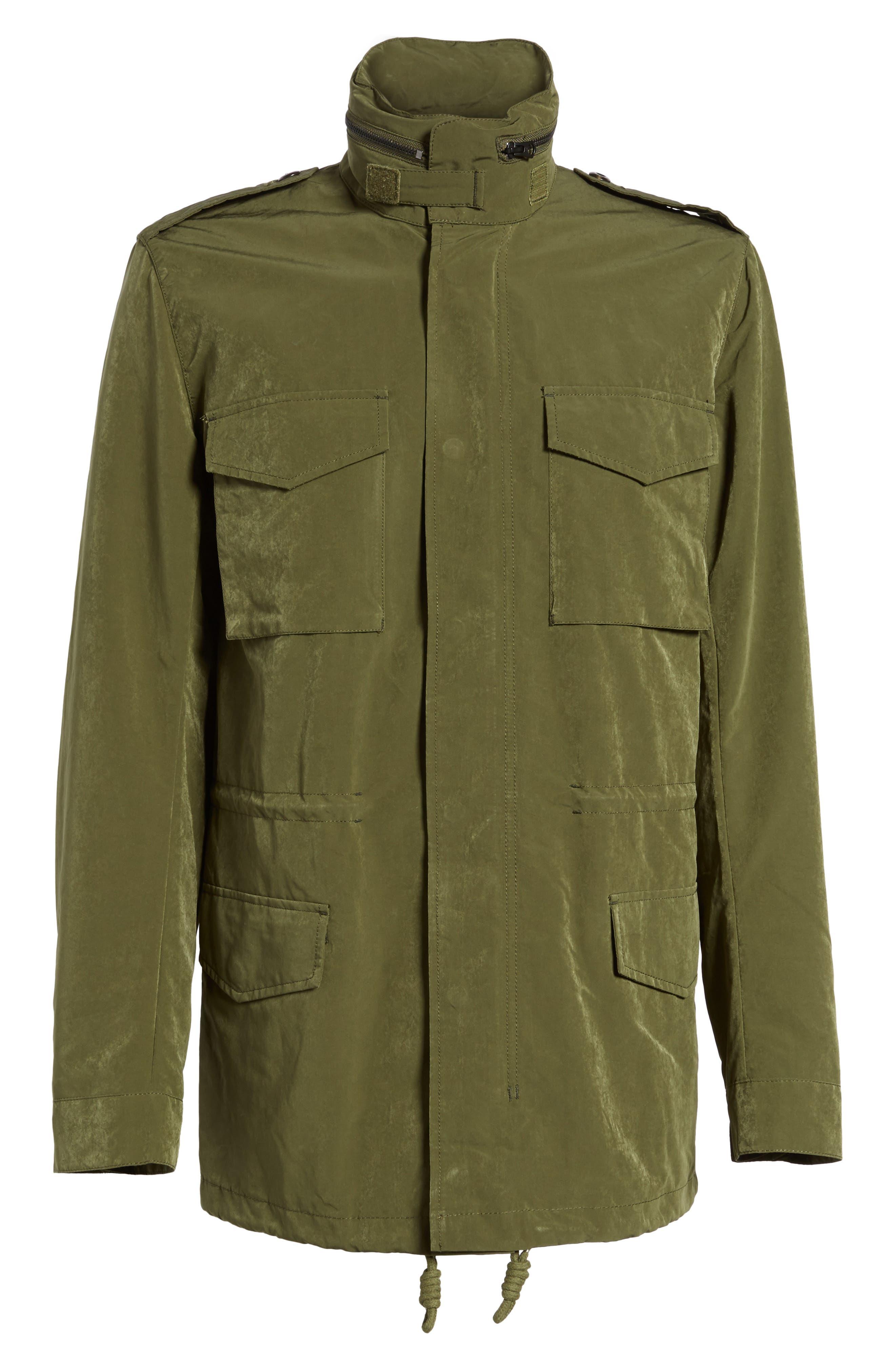 Wax Sanded Jacket,                             Alternate thumbnail 5, color,