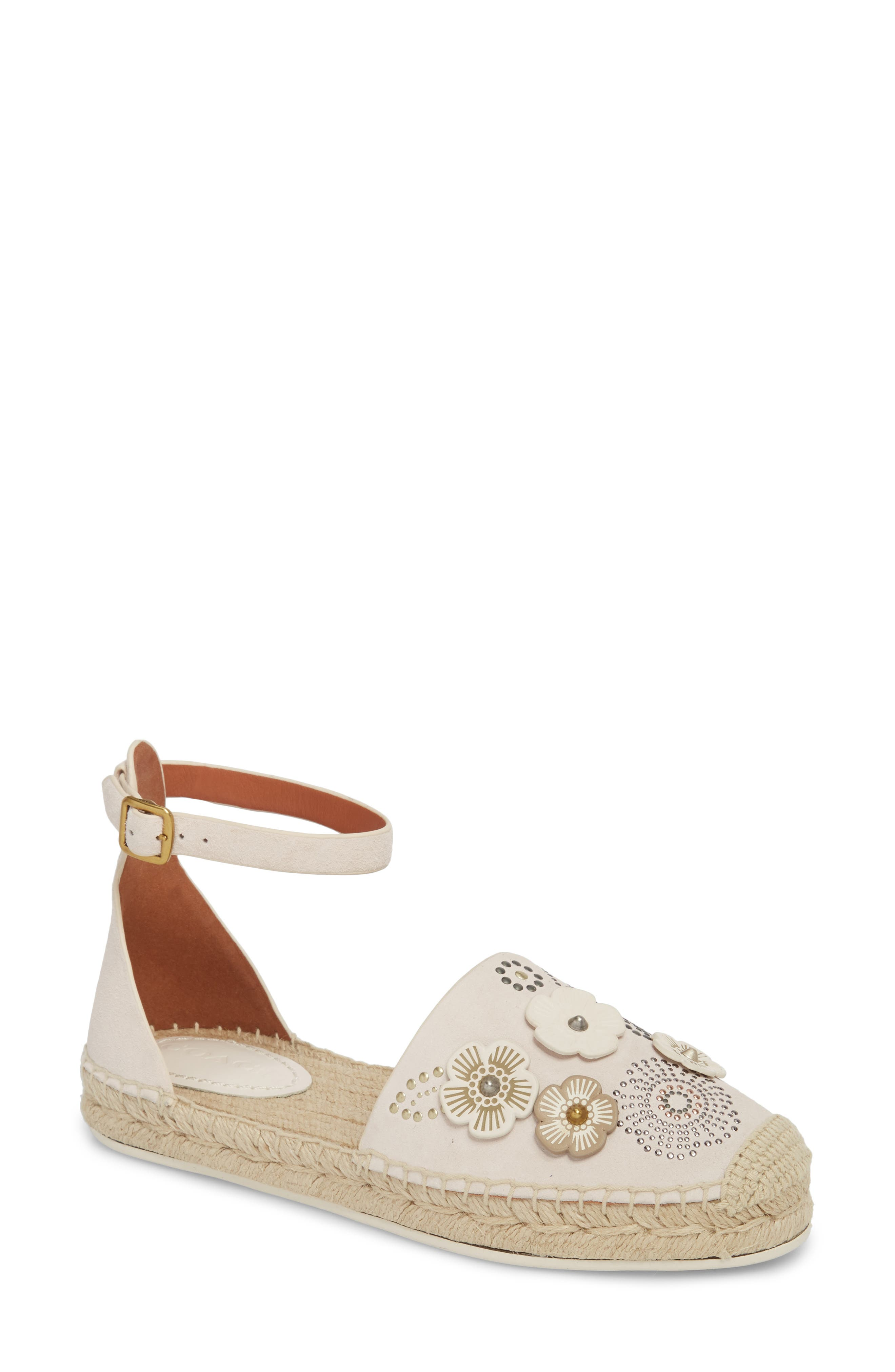 Astor Ankle Strap Flat,                         Main,                         color, 115