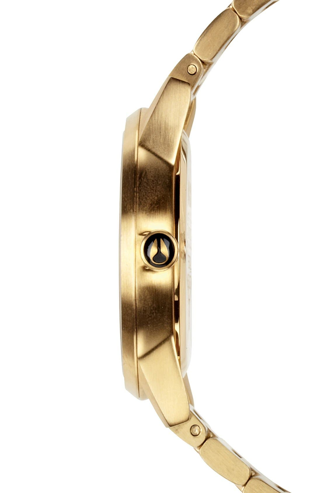 'The Kensington' Bracelet Watch, 37mm,                             Alternate thumbnail 2, color,                             GOLD/ WHITE