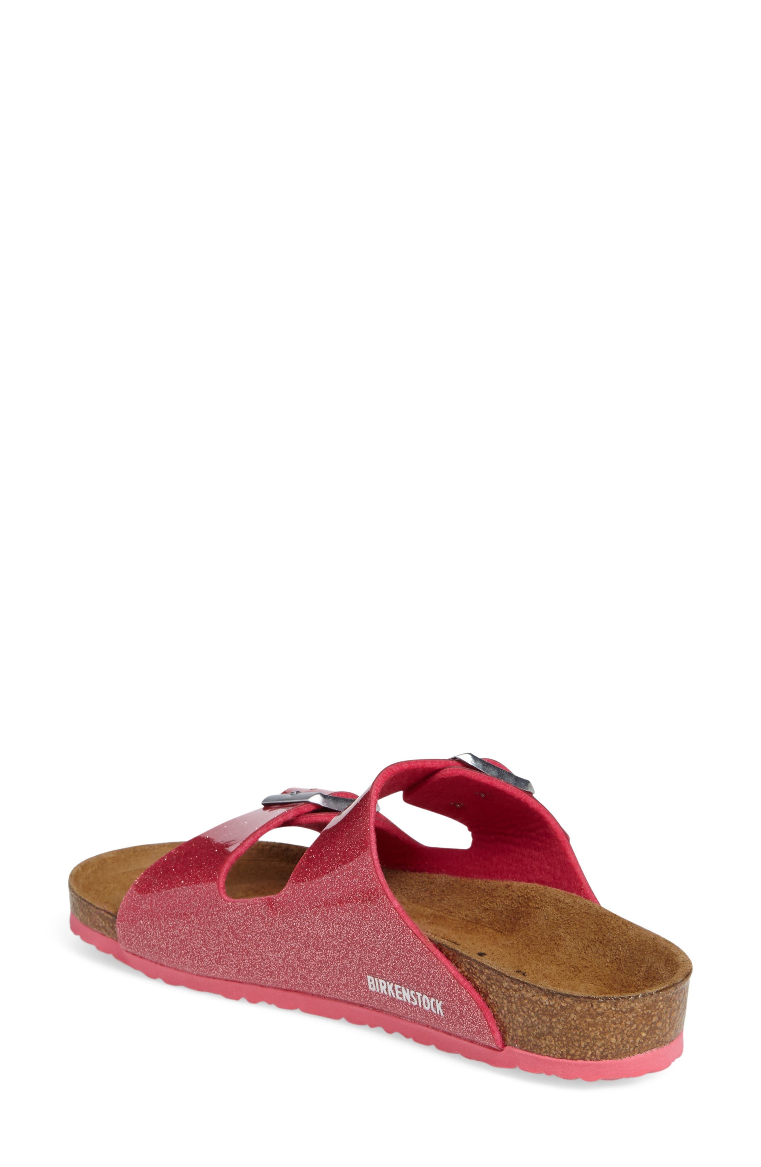 'Arizona Galaxy Birko-Flor' Slide Sandal,                             Alternate thumbnail 8, color,