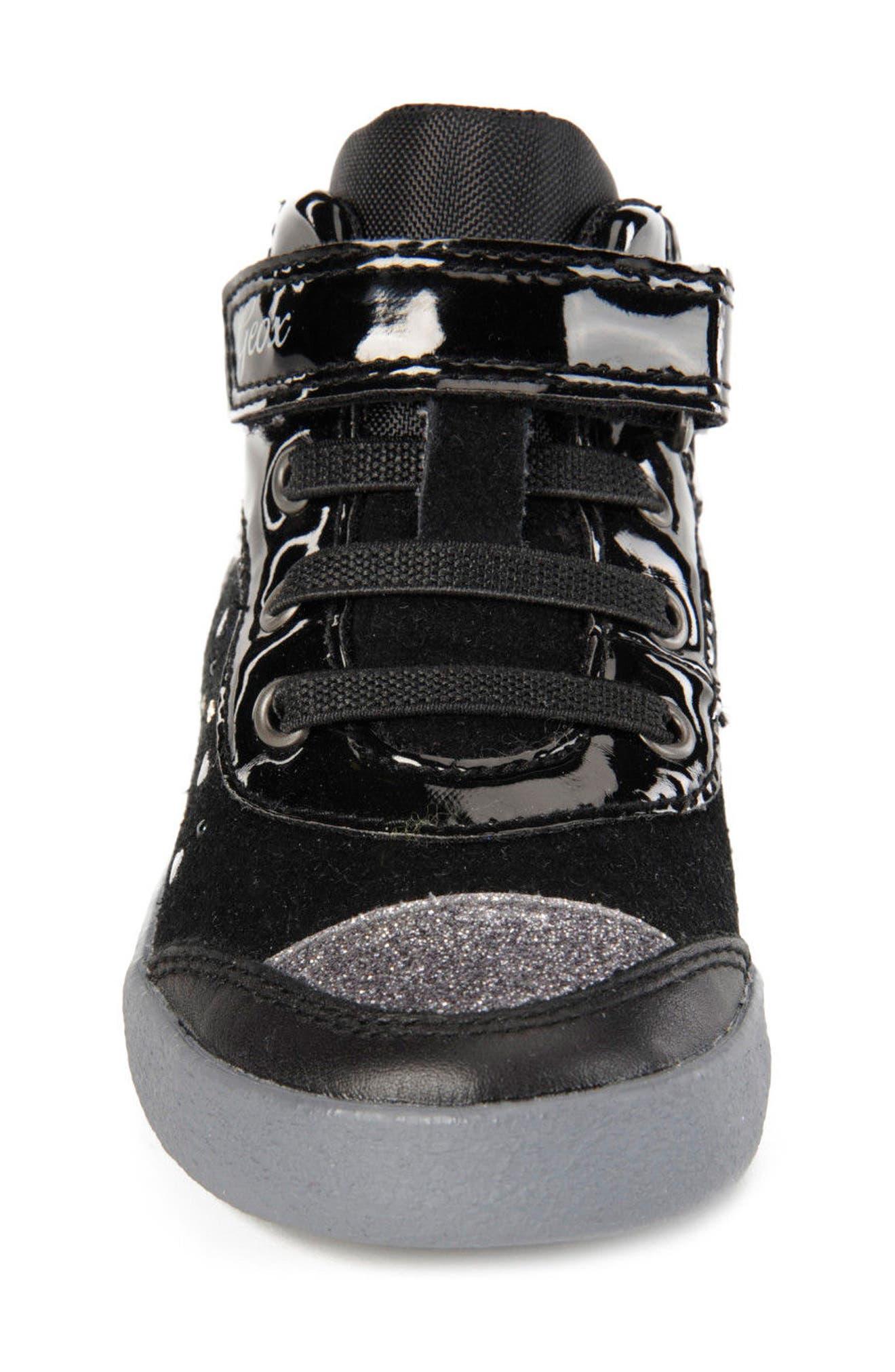 Kiwi Girl Studded High Top Sneaker,                             Alternate thumbnail 10, color,