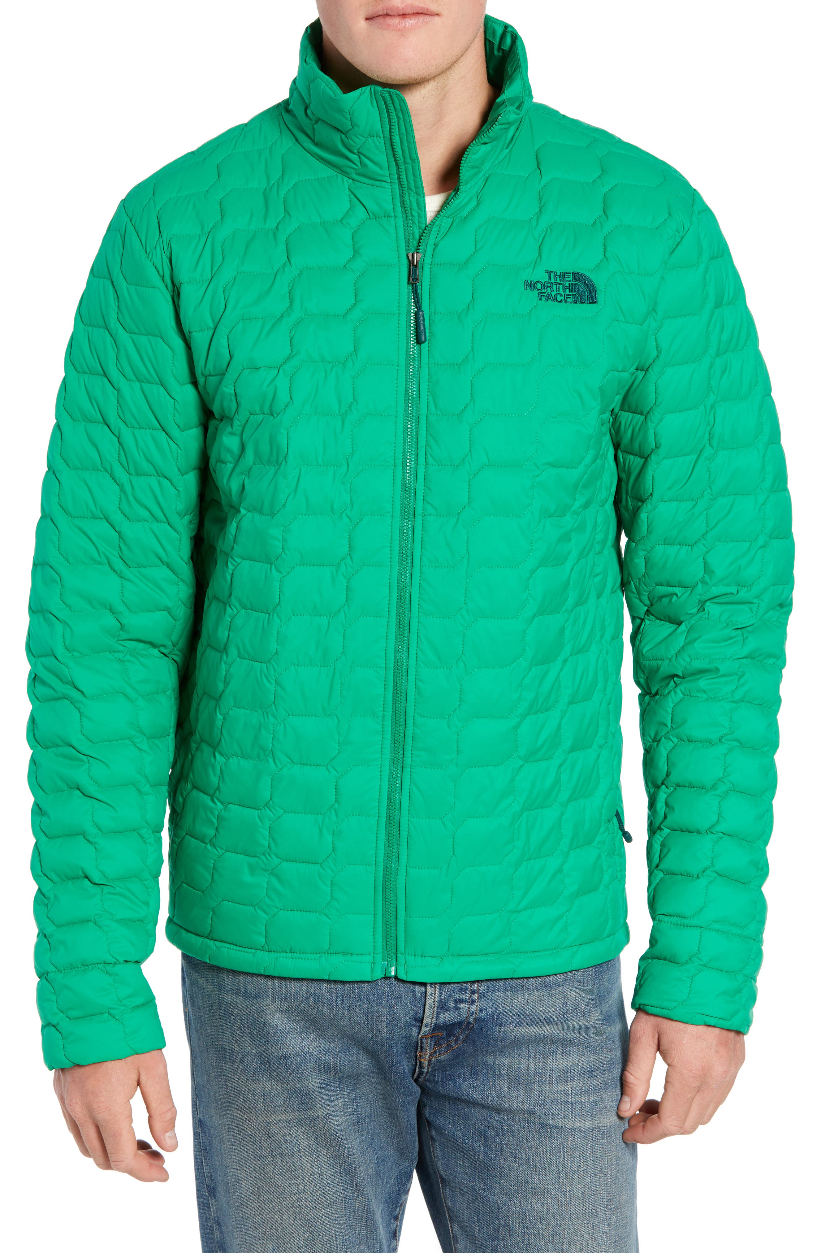 THE NORTH FACE,                             ThermoBall<sup>™</sup> Jacket,                             Main thumbnail 1, color,                             PRIMARY GREEN MATTE
