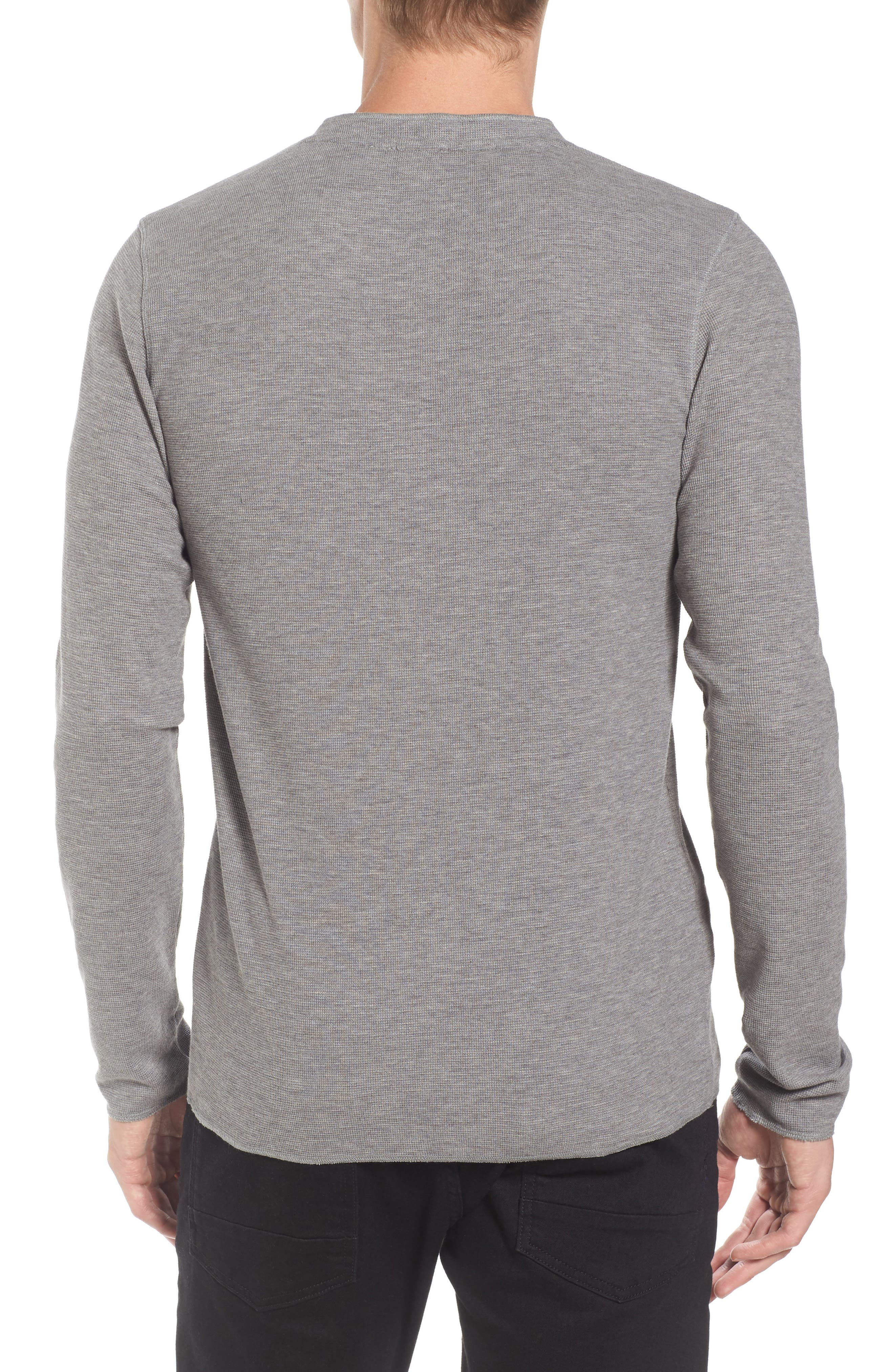 Topsider Thermal Henley,                             Alternate thumbnail 2, color,                             051