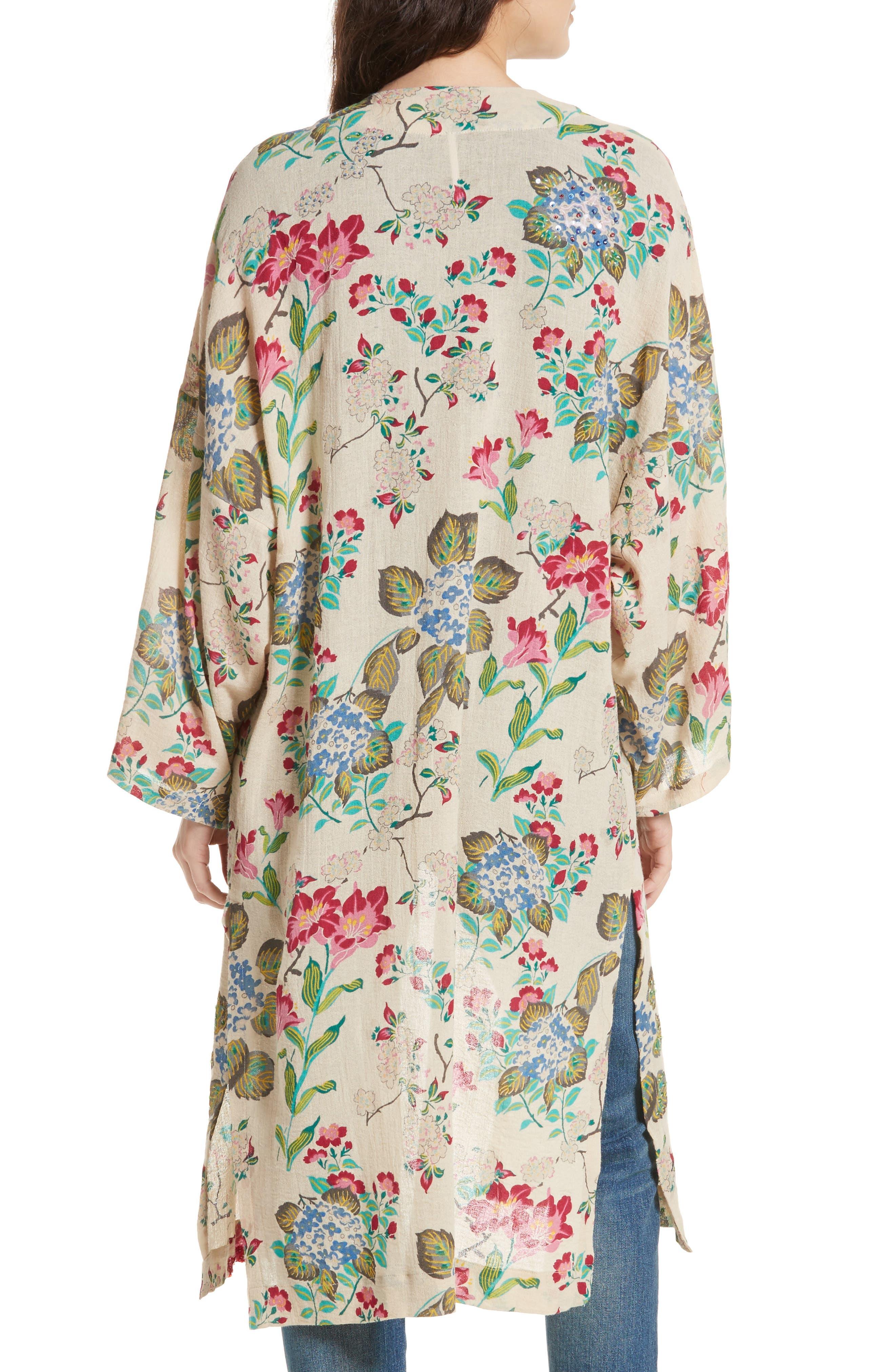 Latimer Kimono,                             Alternate thumbnail 2, color,