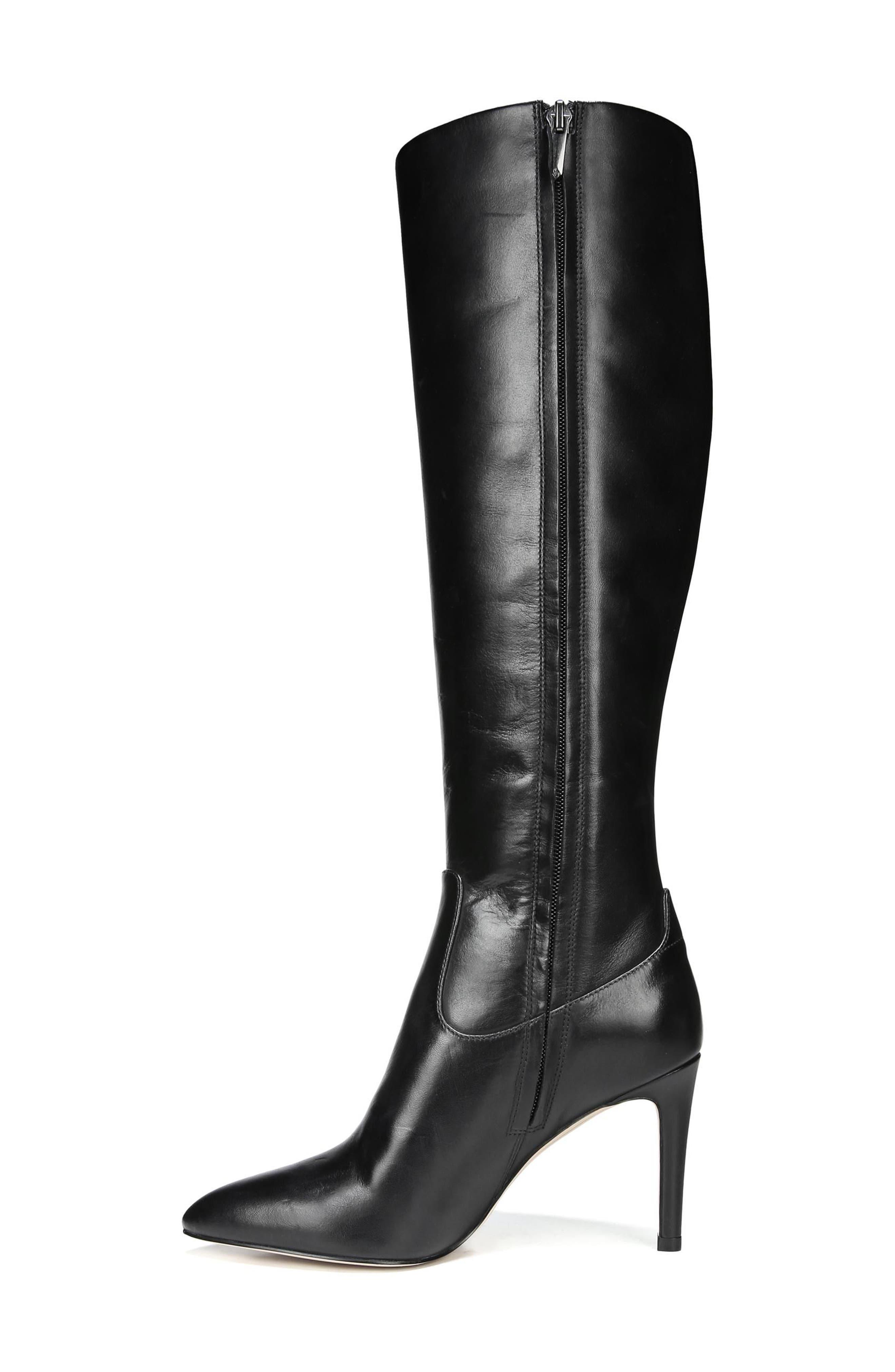 Olencia Knee High Boot,                             Alternate thumbnail 3, color,                             001