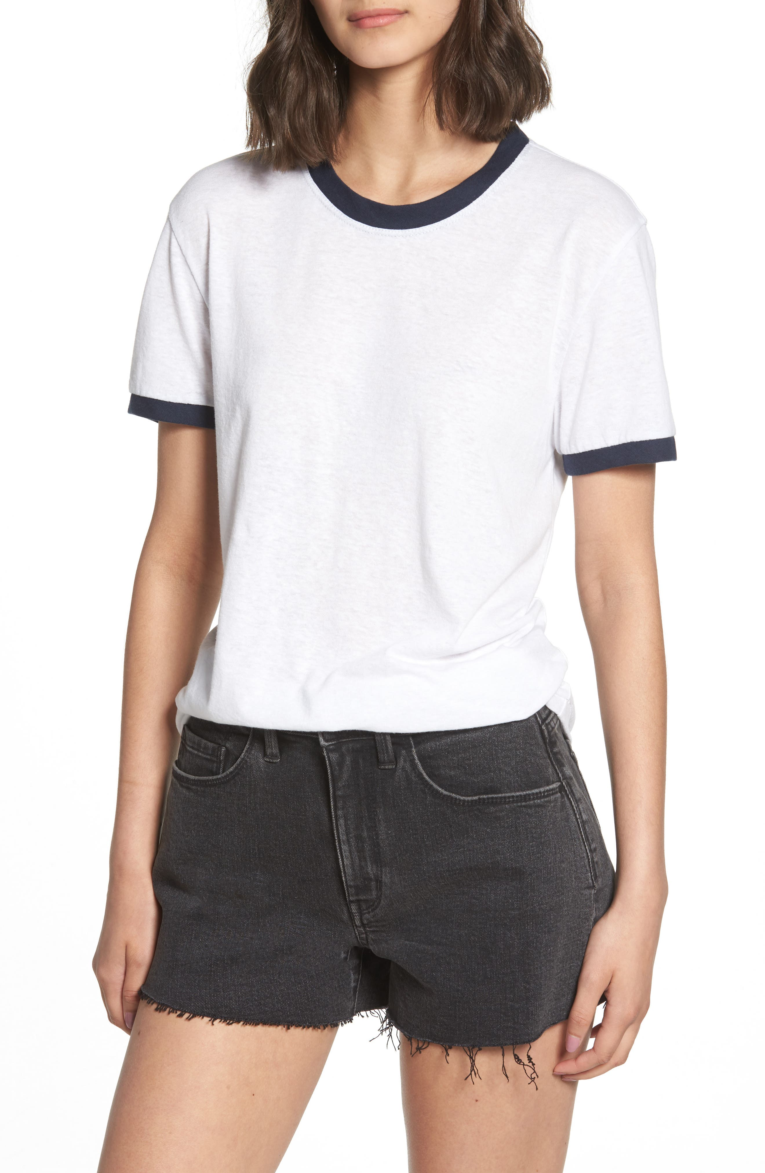 Ringer Tee,                         Main,                         color, 100