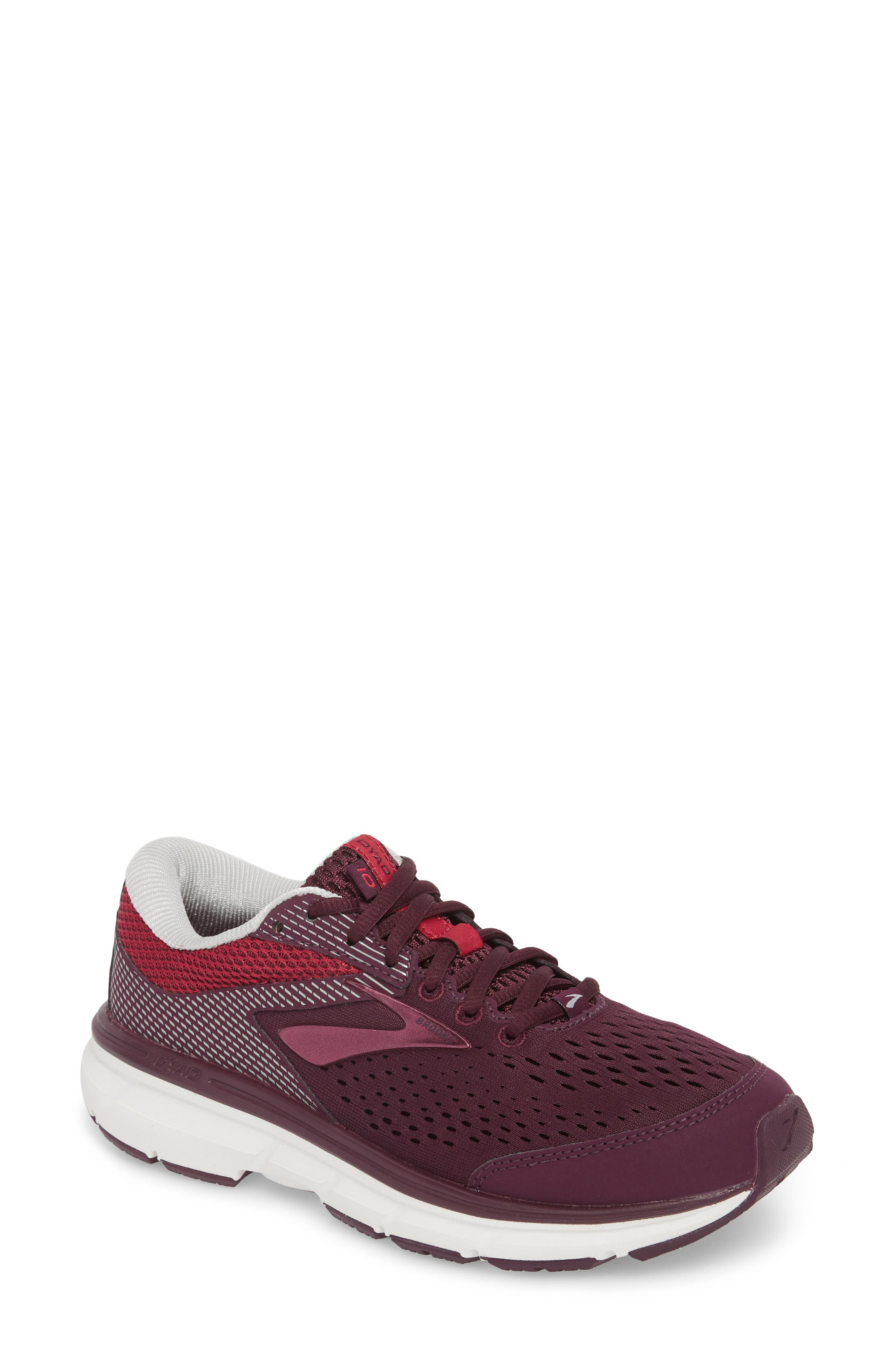 Dyad 10 Running Shoe,                         Main,                         color, PURPLE/ PINK/ GREY