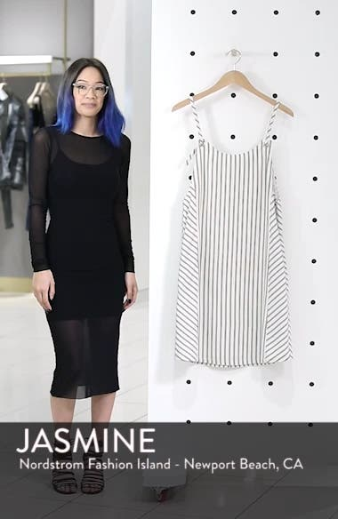 Striped Overall Dress, sales video thumbnail