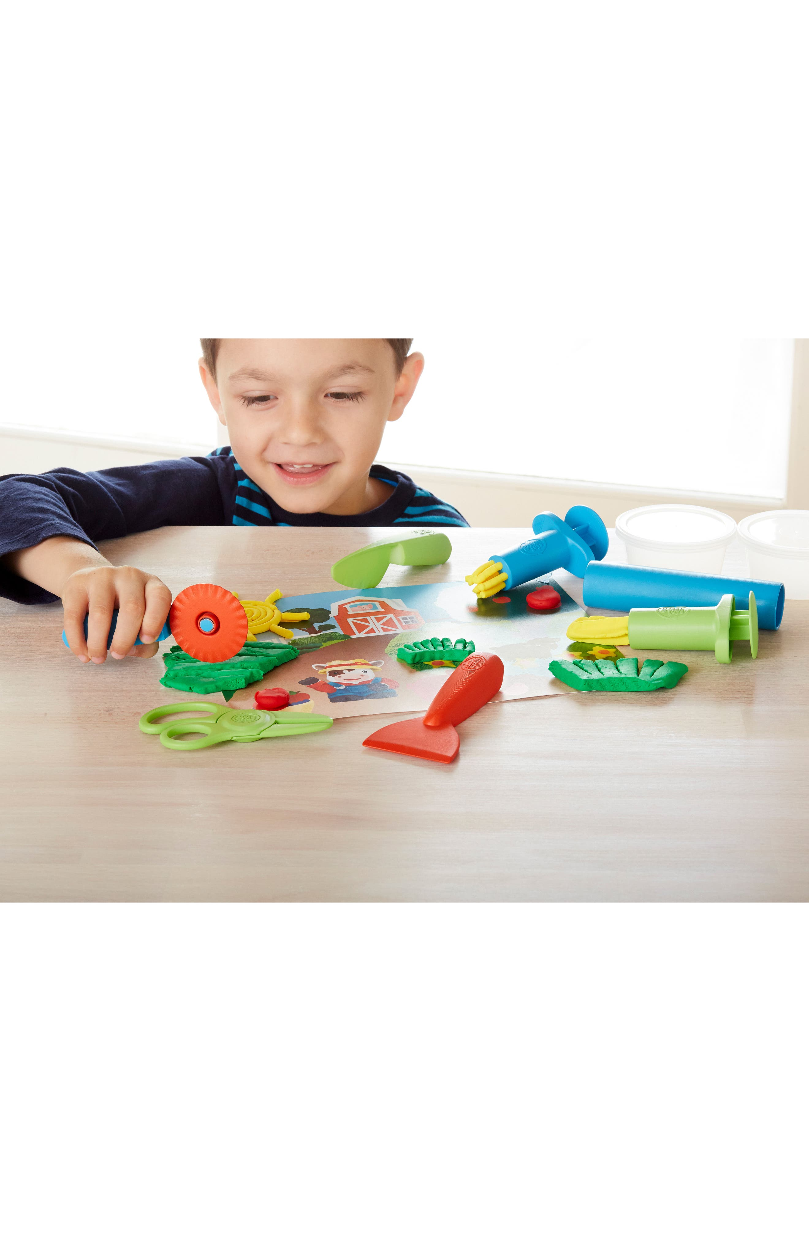 11-Piece Plastic Farm Tool Essentials Dough Set,                             Alternate thumbnail 3, color,                             300