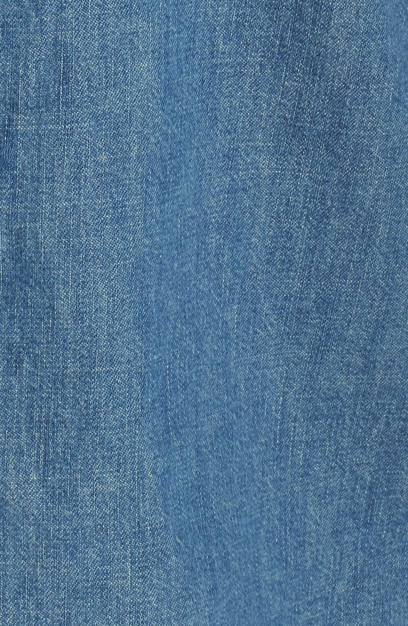 Chambray Western Shirt,                             Alternate thumbnail 5, color,                             CLAY