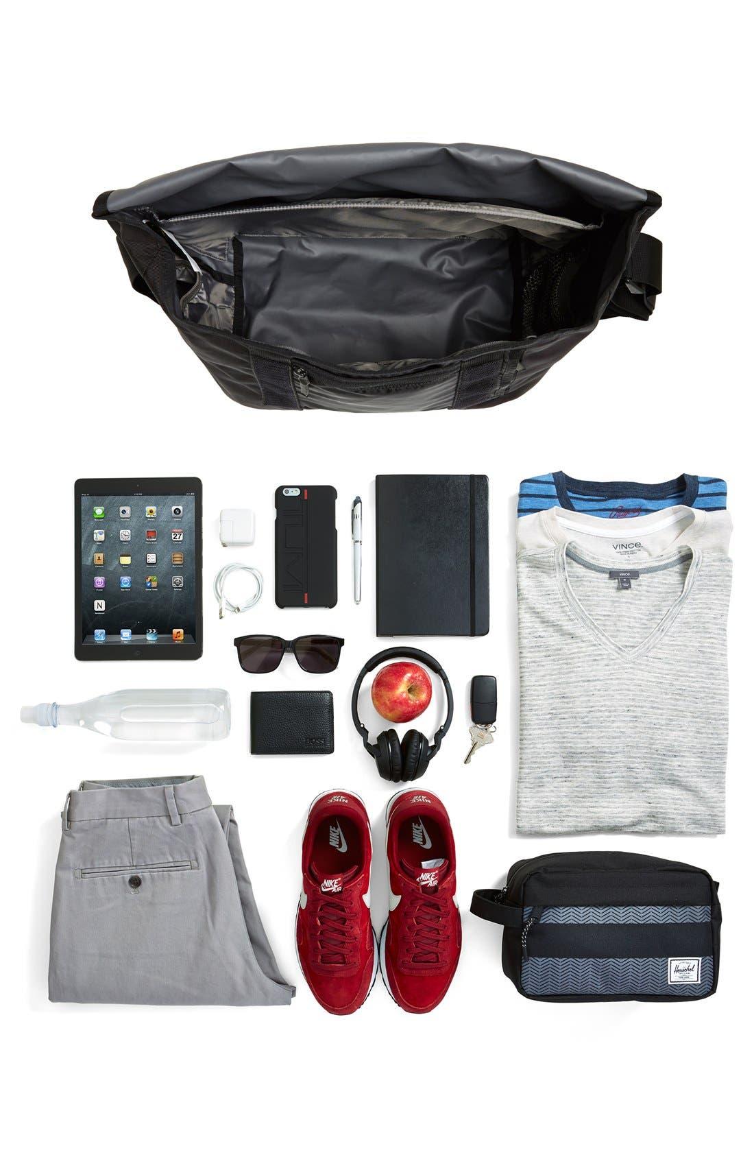 Medium Messenger Bag,                             Alternate thumbnail 2, color,                             001