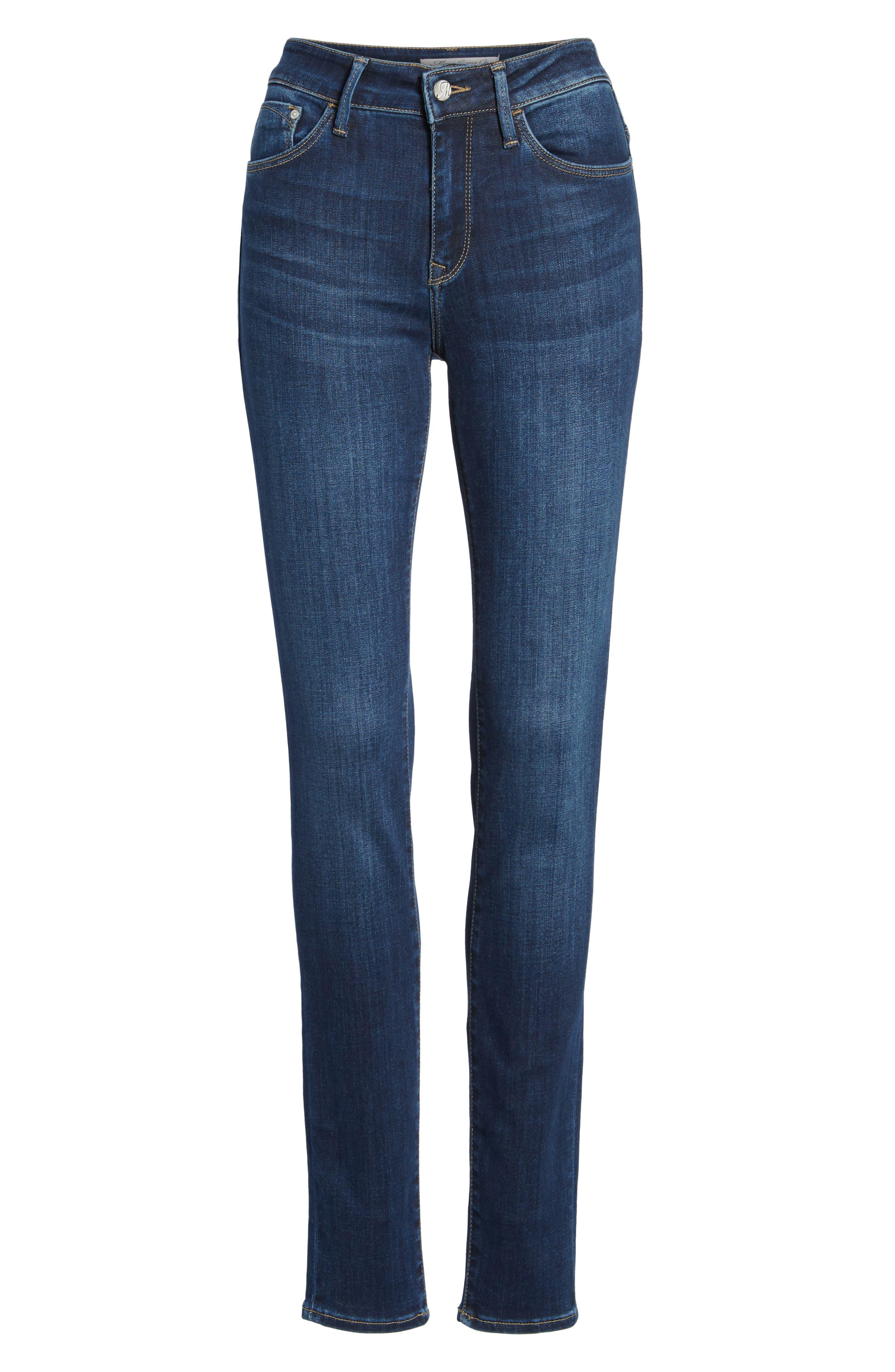 Alissa Skinny Jeans,                             Alternate thumbnail 7, color,                             400