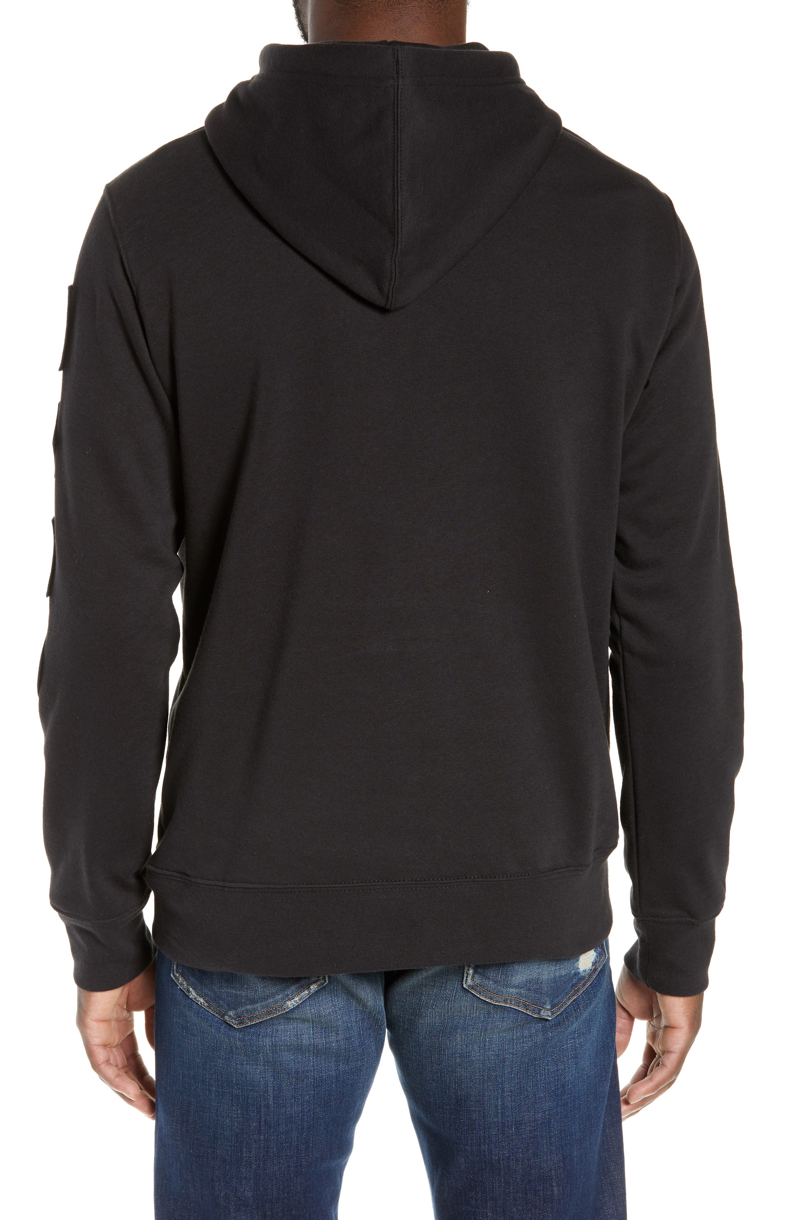 Urban Patches Hoodie,                             Alternate thumbnail 2, color,                             001