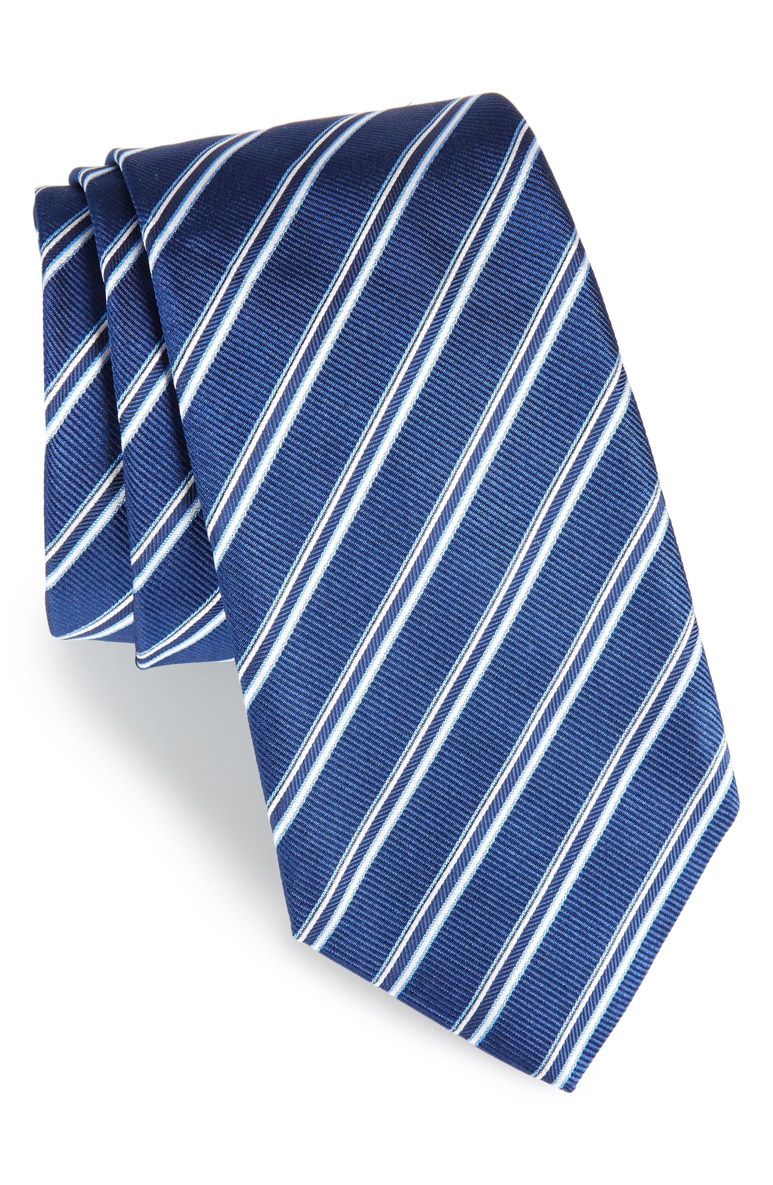 Stripe Silk Tie,                         Main,                         color,