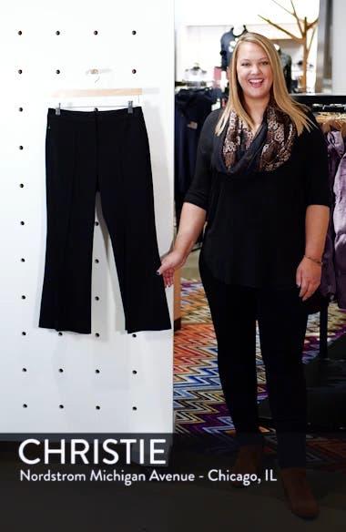 Flared Crop Ponte Pants, sales video thumbnail