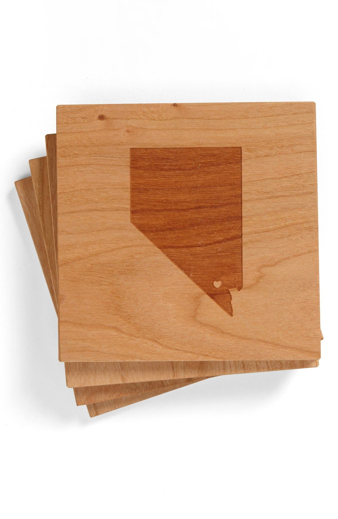 'State Silhouette' Coasters,                             Main thumbnail 10, color,