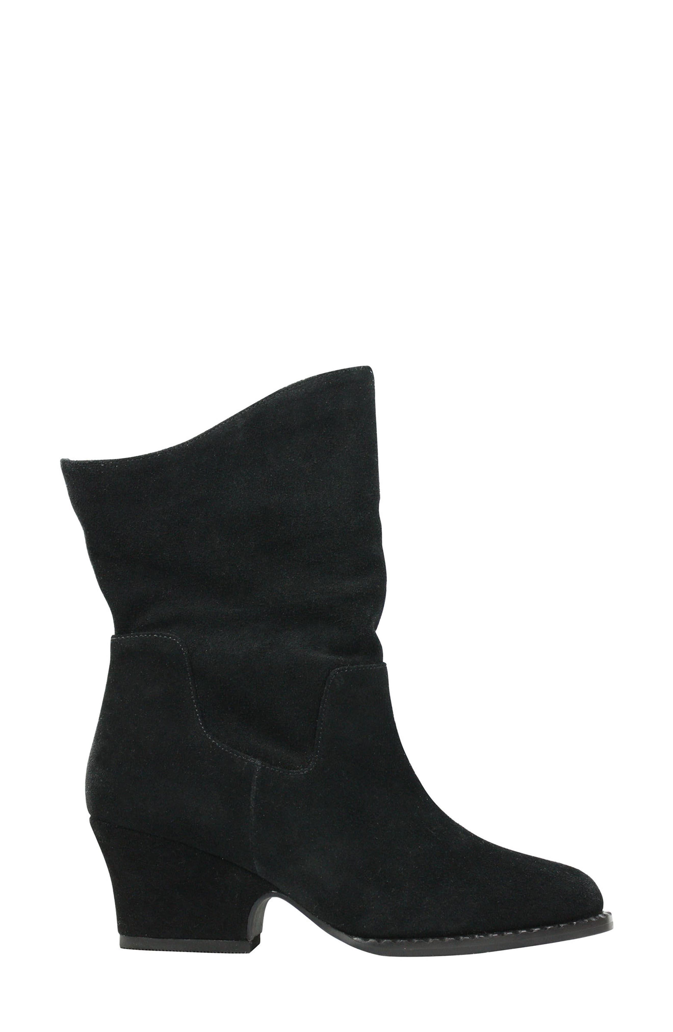 Jarrah Boot,                             Alternate thumbnail 2, color,                             BLACK SUEDE