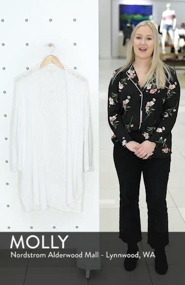 Long Organic Cotton Cardigan, sales video thumbnail