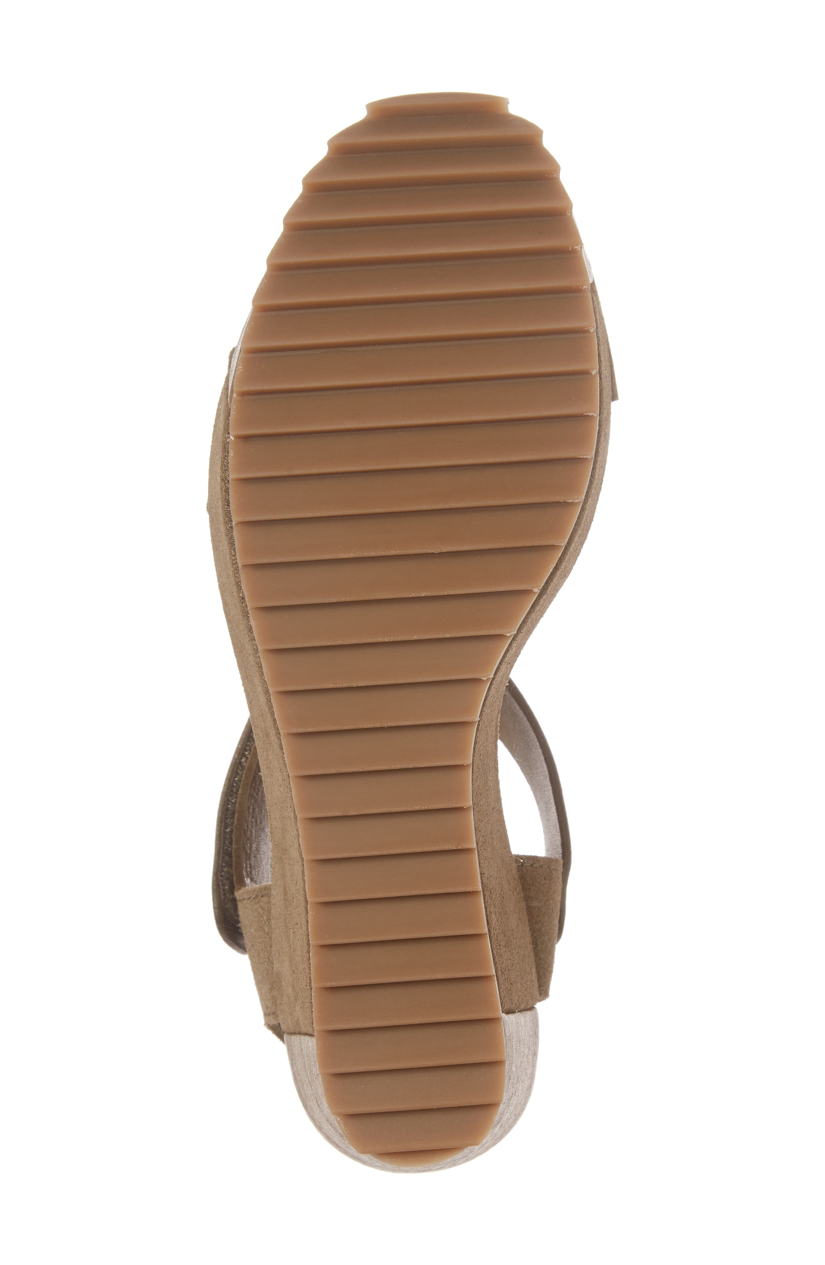 Francesca Wedge Sandal,                             Alternate thumbnail 6, color,                             250
