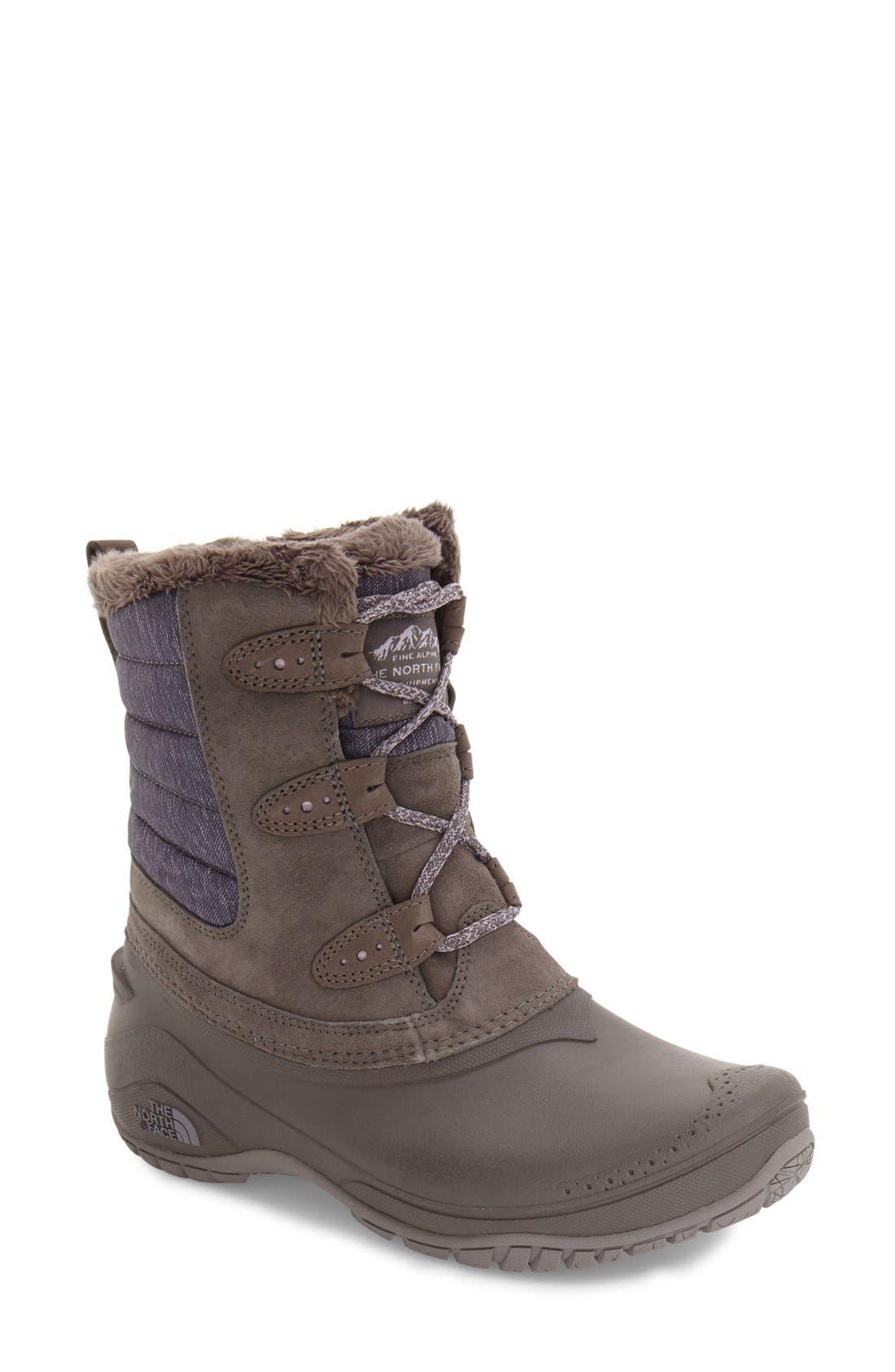Shellista II Waterproof Boot,                             Main thumbnail 4, color,