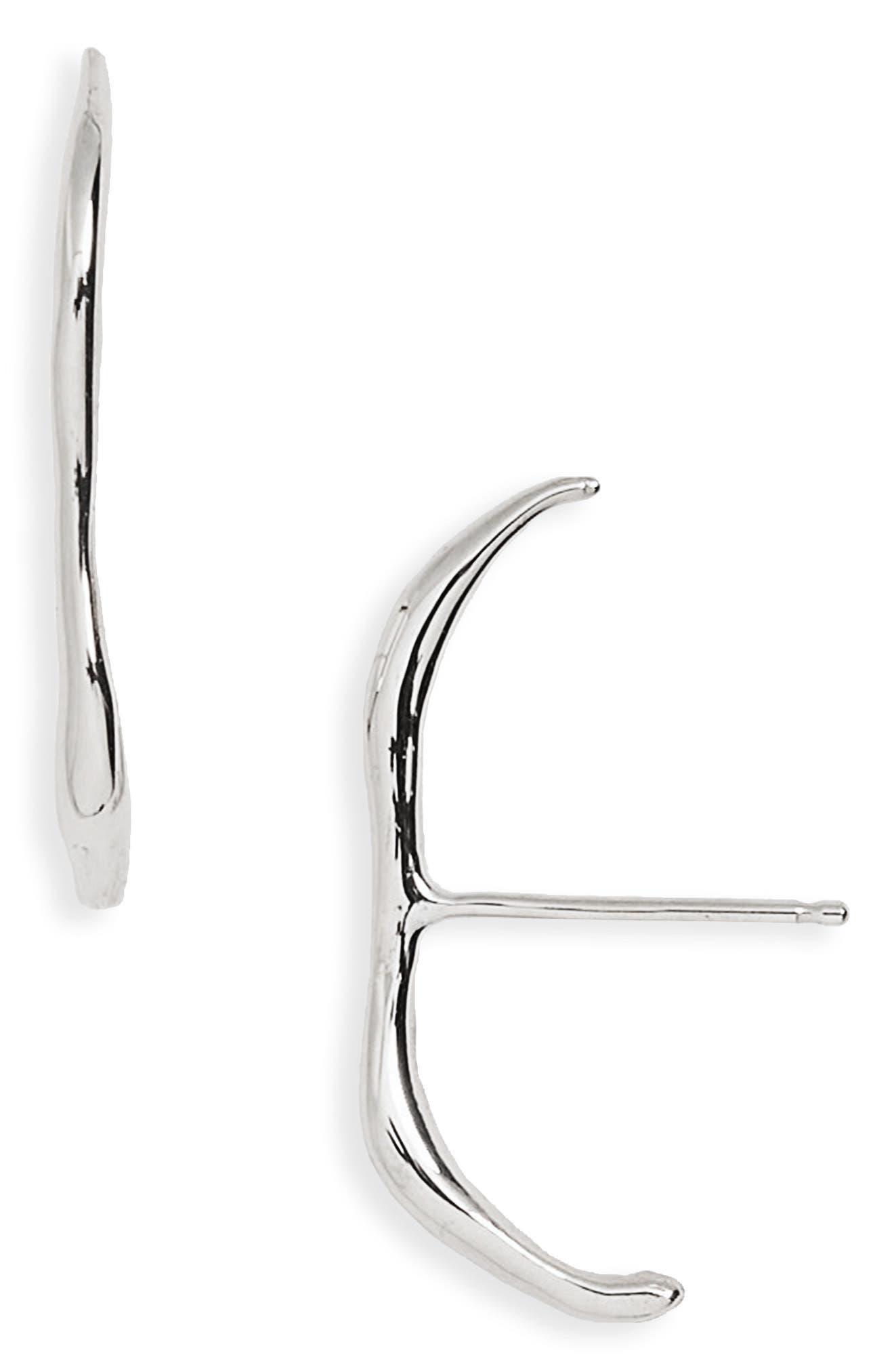 Vero Stud Earrings,                         Main,                         color, STERLING SILVER