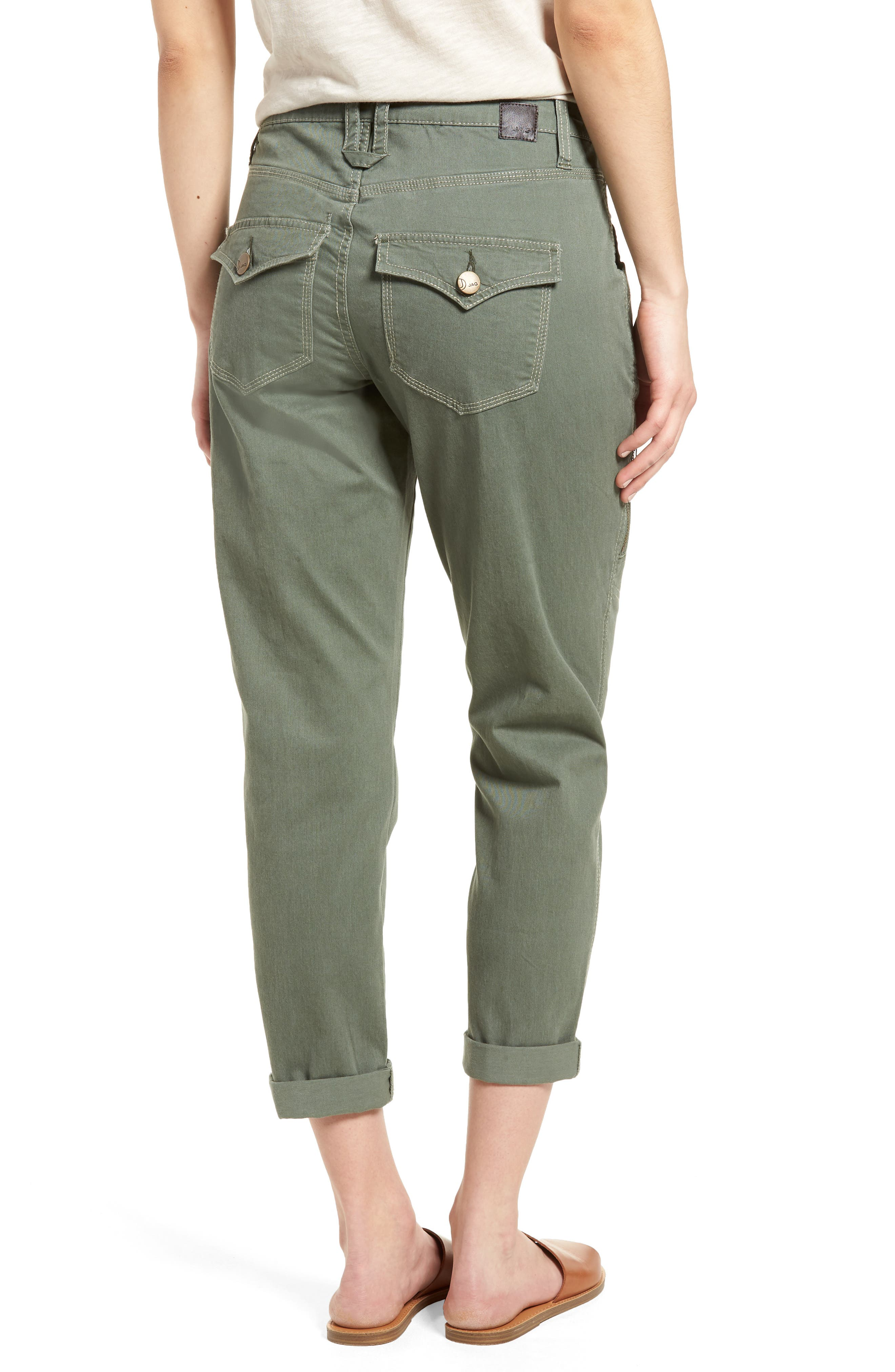 Gable Stretch Twill Utility Pants,                             Alternate thumbnail 7, color,