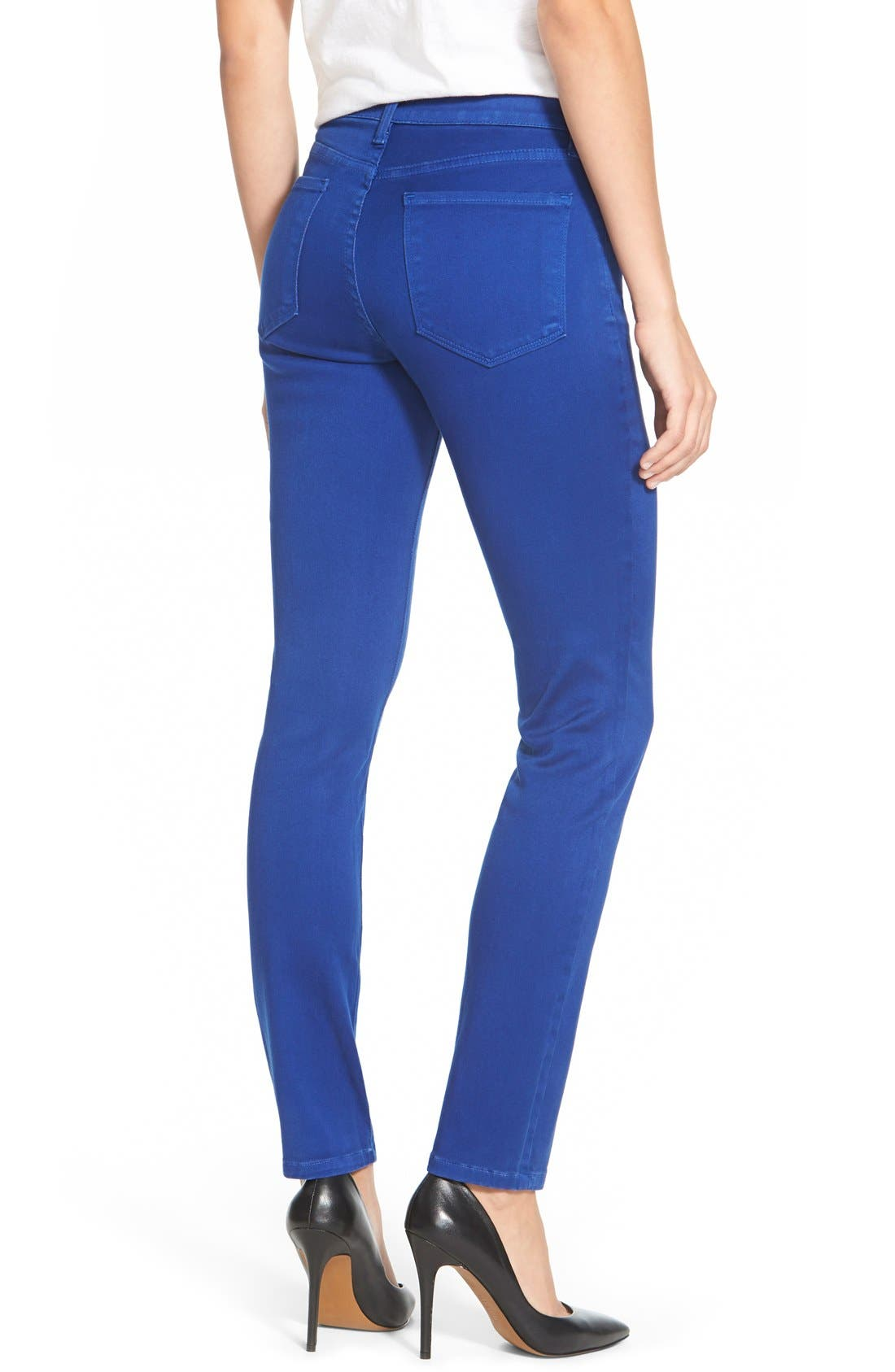 Alina Colored Stretch Skinny Jeans,                             Alternate thumbnail 57, color,