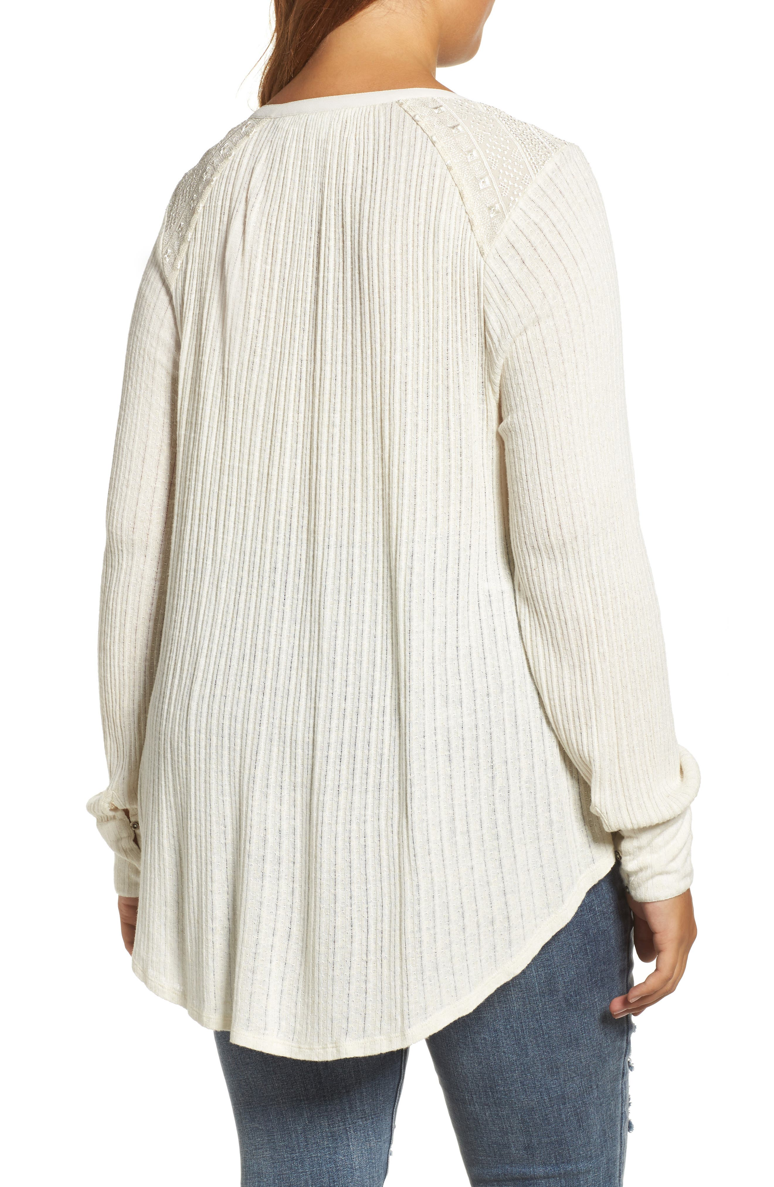 Drop Needle Ribbed Pullover,                             Alternate thumbnail 4, color,