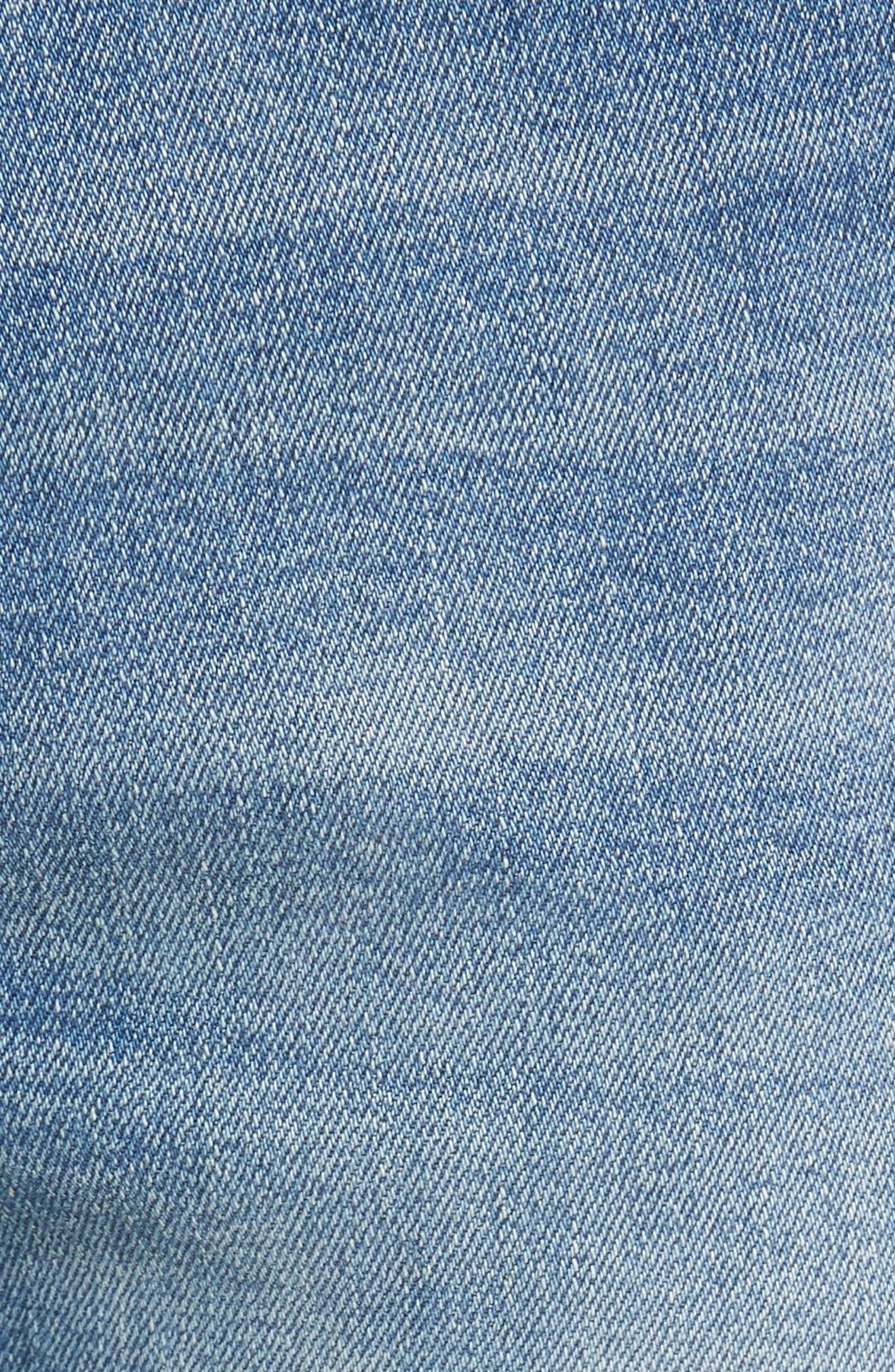 Hunter Skinny Jeans,                             Alternate thumbnail 5, color,                             HALT 2