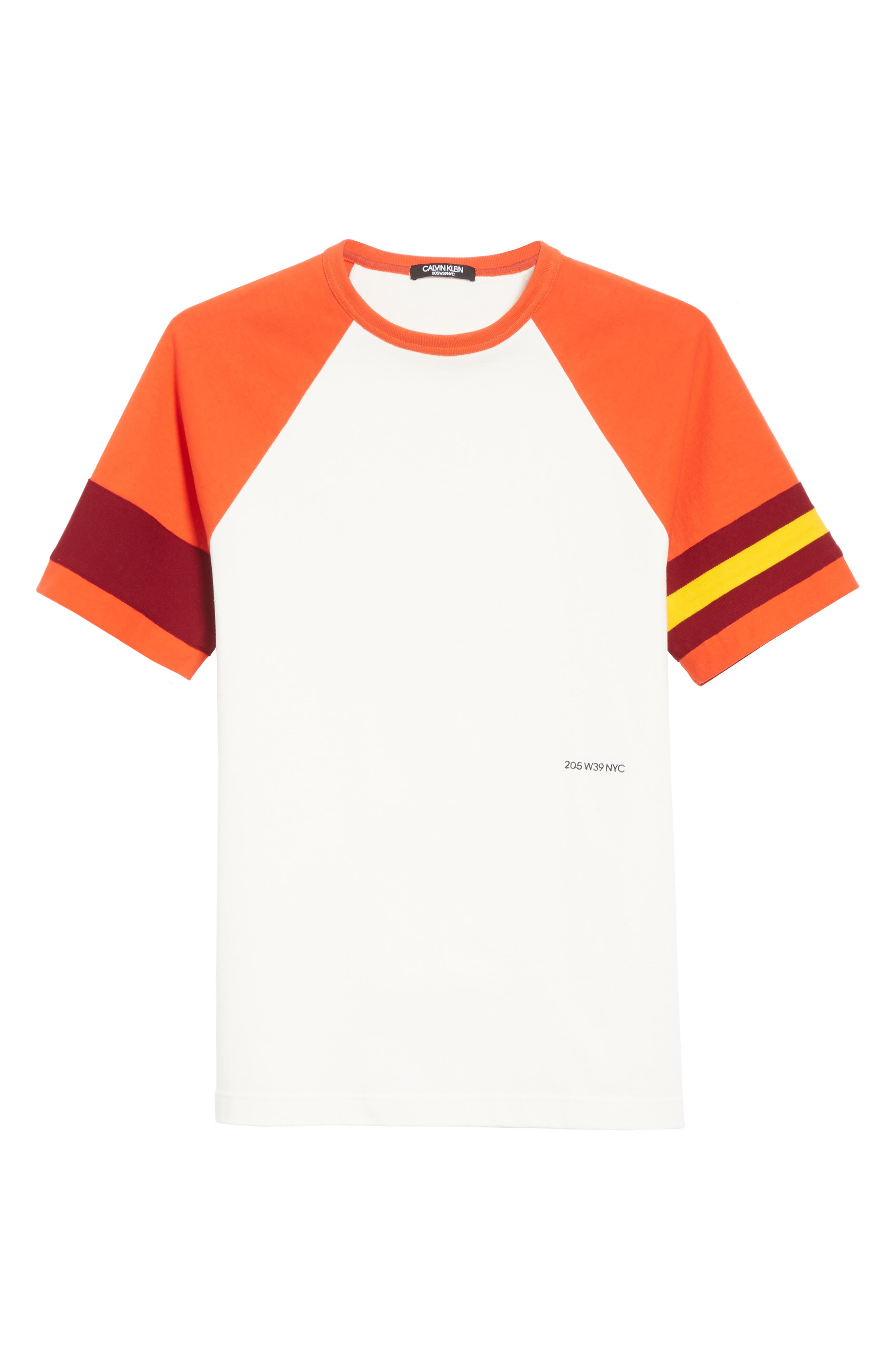Jersey Varsity T-Shirt,                             Alternate thumbnail 6, color,                             WHITE