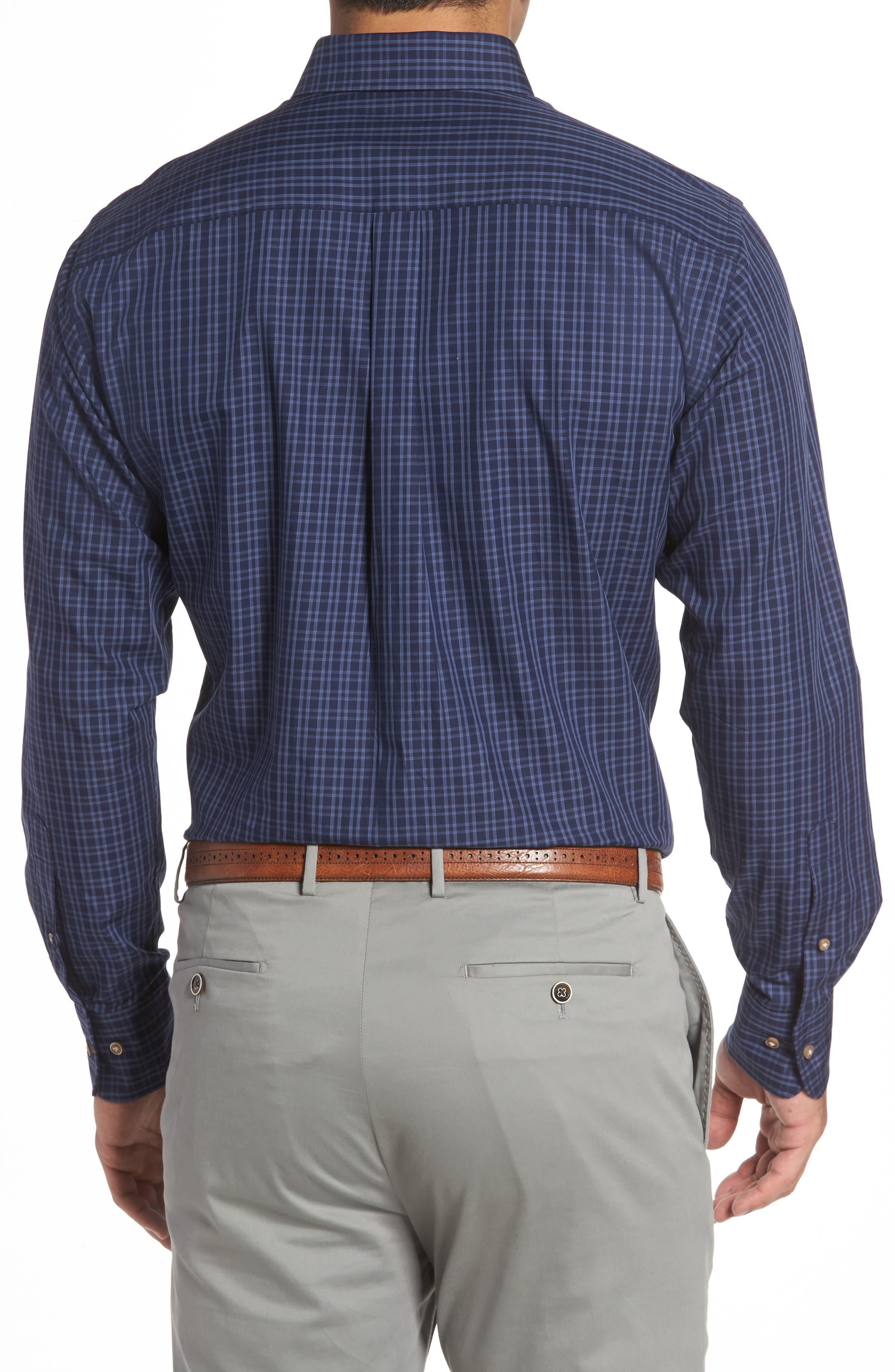 Autumn Check Regular Fit Sport Shirt,                             Alternate thumbnail 2, color,                             415