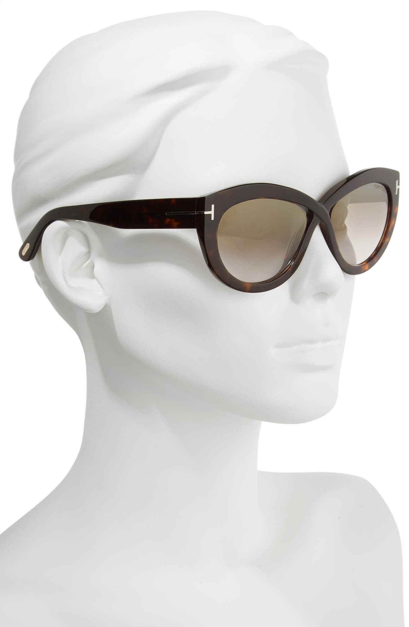 Diane 56mm Butterfly Sunglasses,                             Alternate thumbnail 2, color,                             010