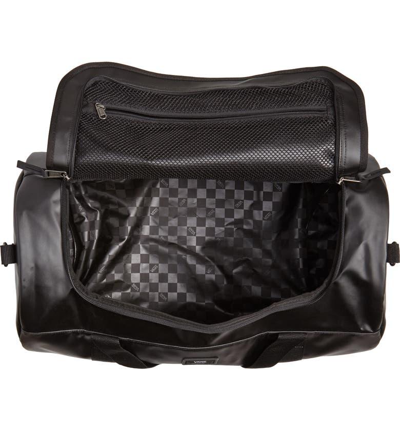 ff04072951 Shop Vans Grind Skate Water Resistant Duffel Bag - Black In Midnight ...