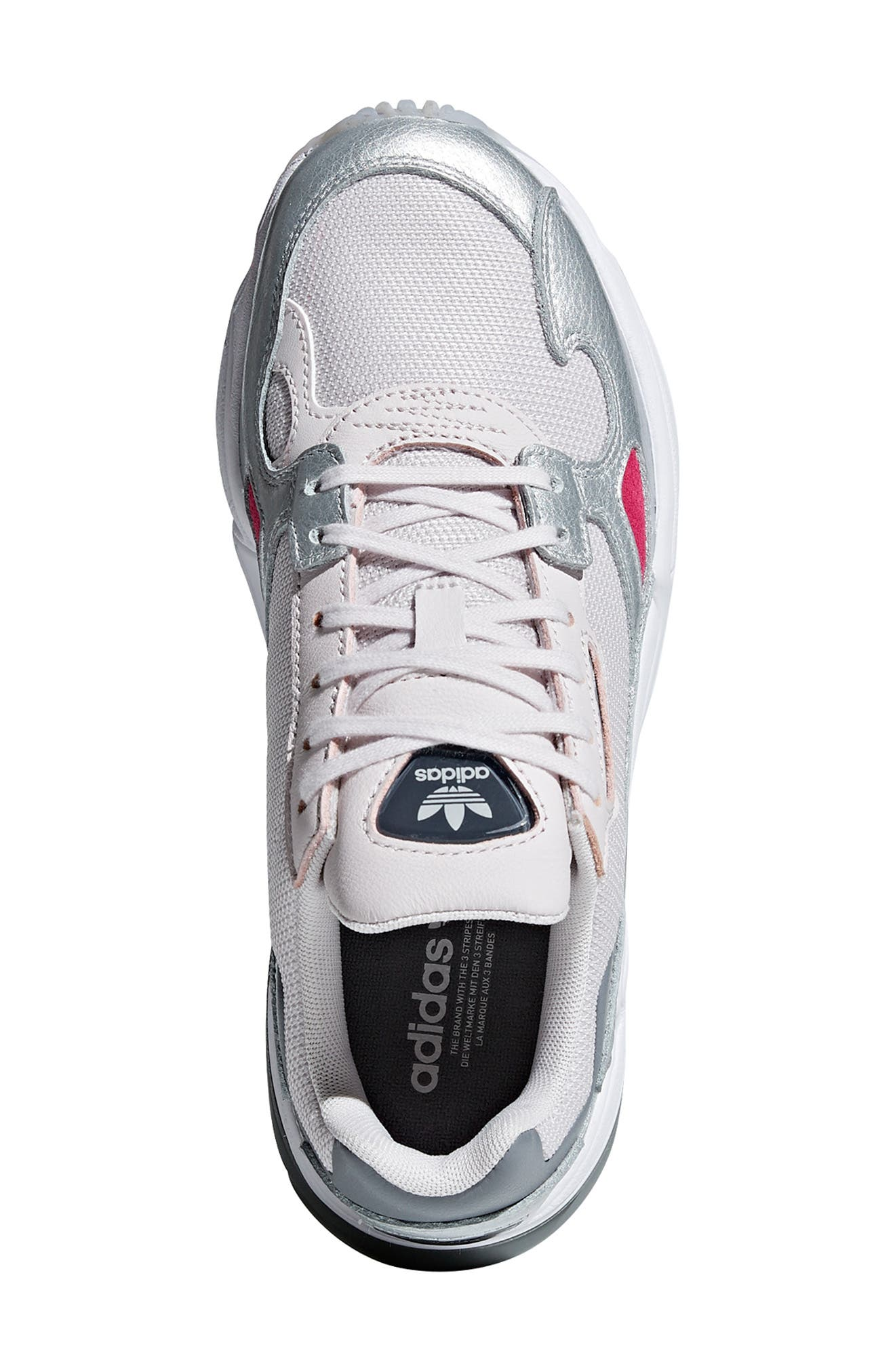 Falcon Sneaker,                             Alternate thumbnail 4, color,                             ORCHID TINT/ SILVER