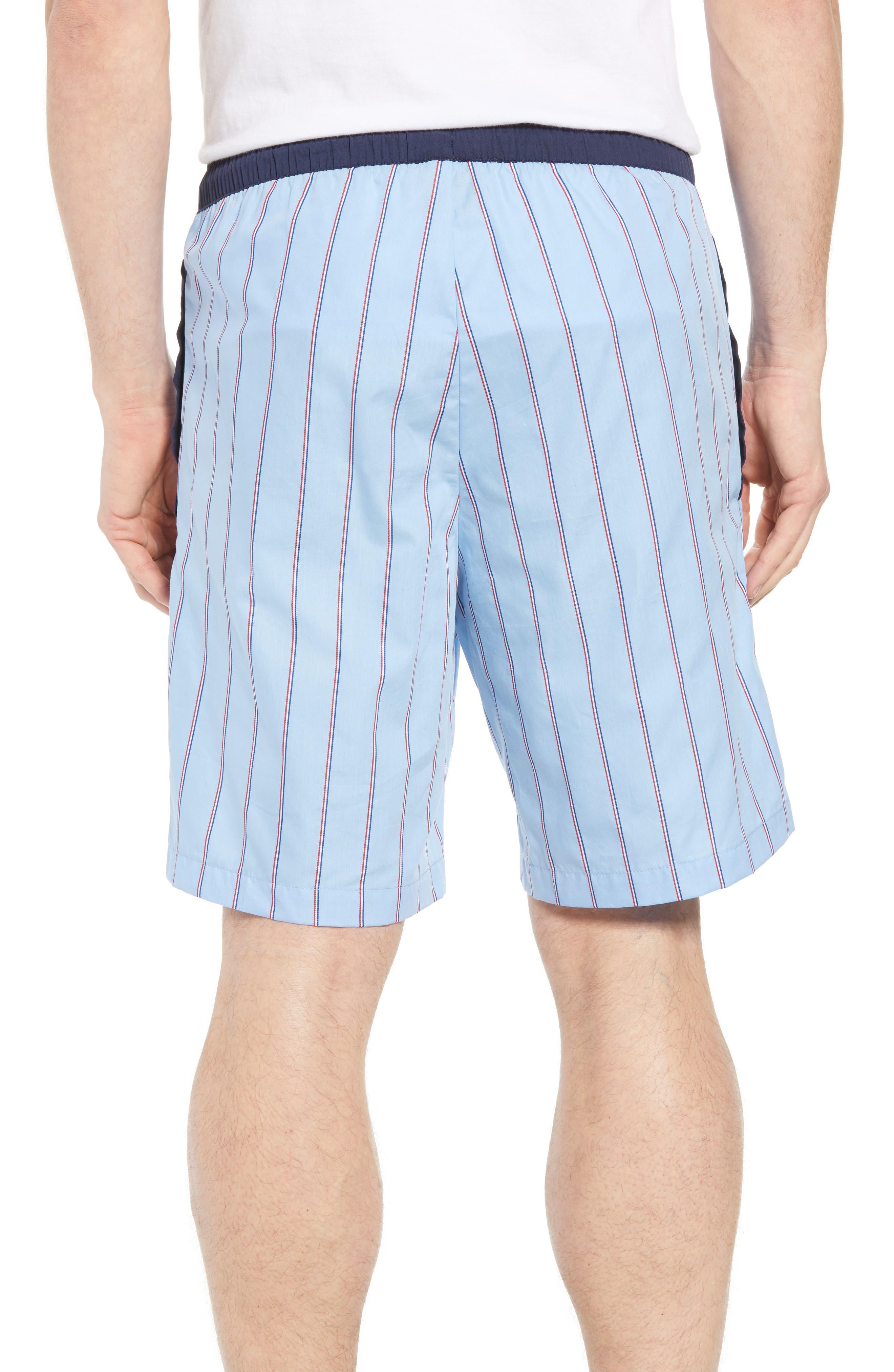 Cotton Sleep Shorts,                             Alternate thumbnail 2, color,                             OMPHALODES