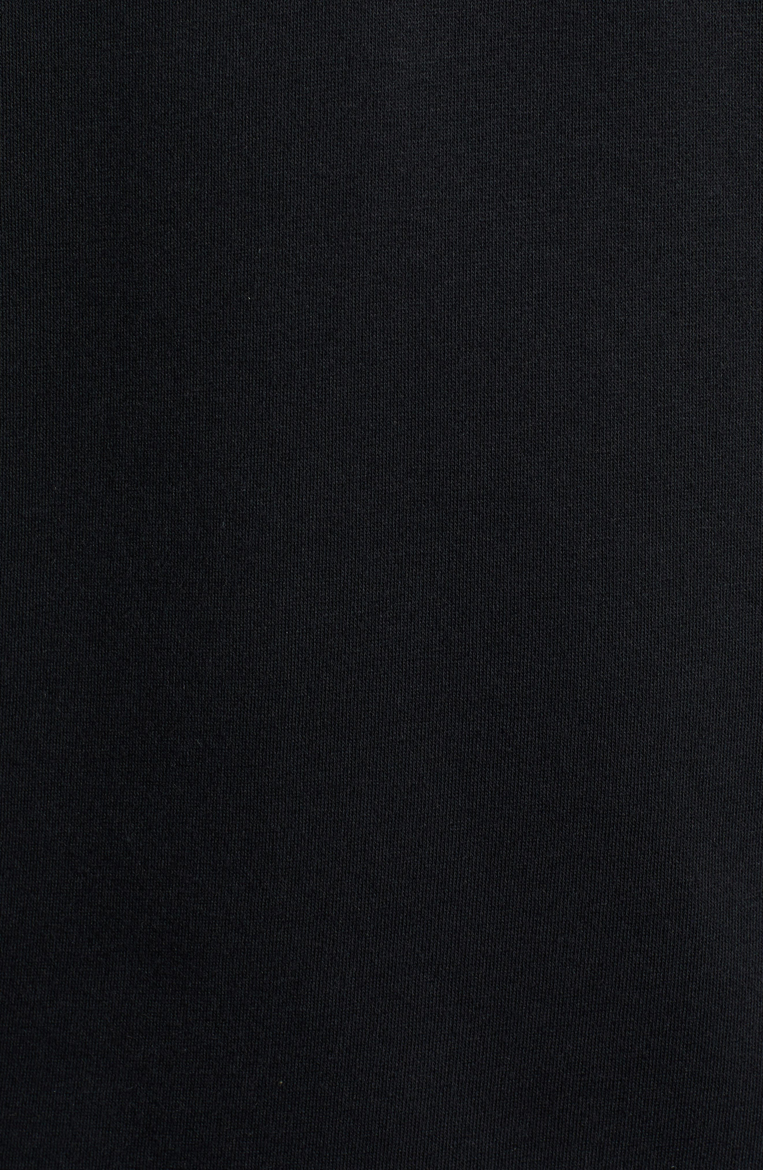 Bugasweat Crewneck Sweatshirt,                             Alternate thumbnail 5, color,                             BLACK