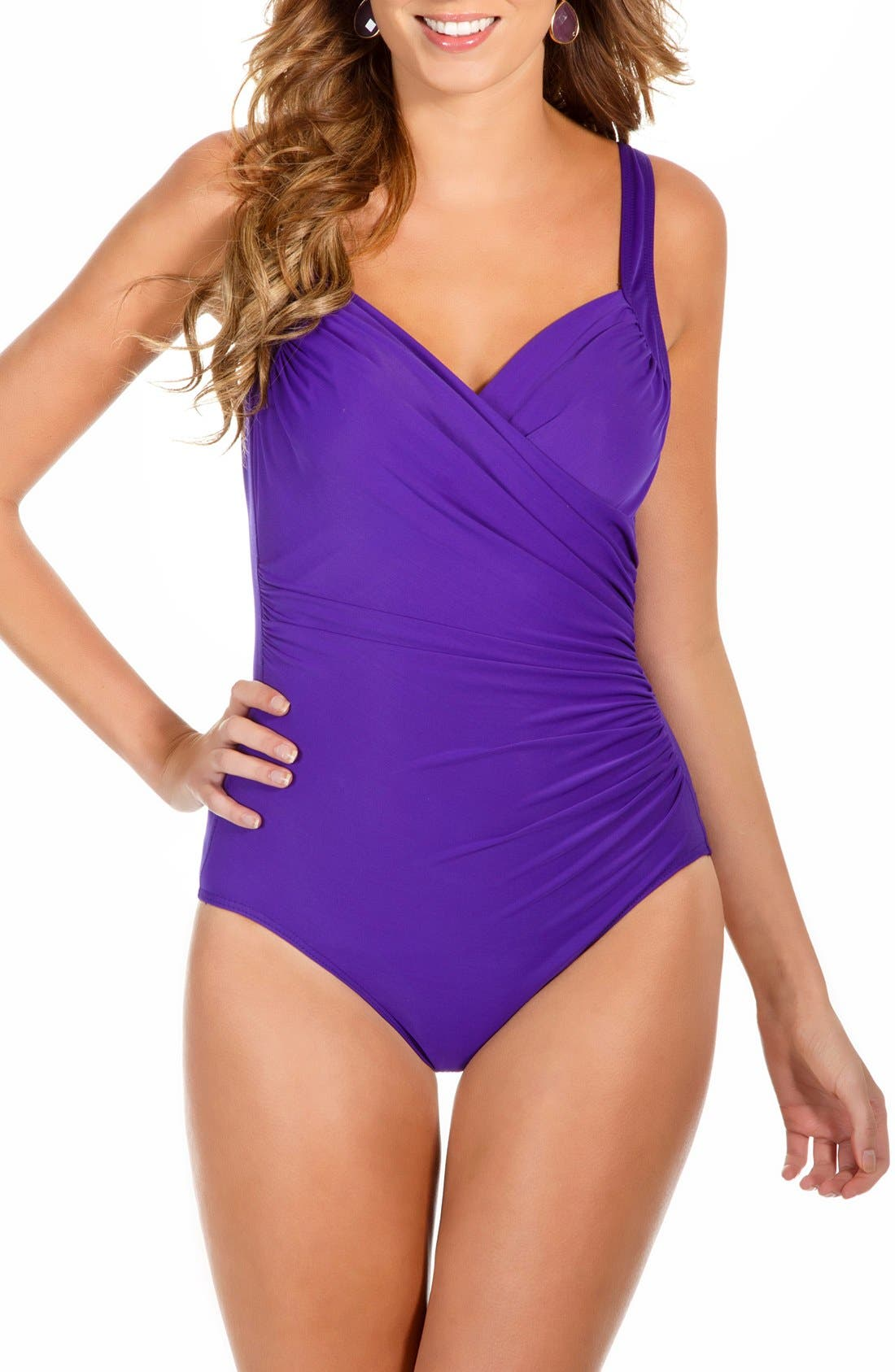 'Sanibel' Underwire One-Piece Swimsuit,                             Main thumbnail 6, color,