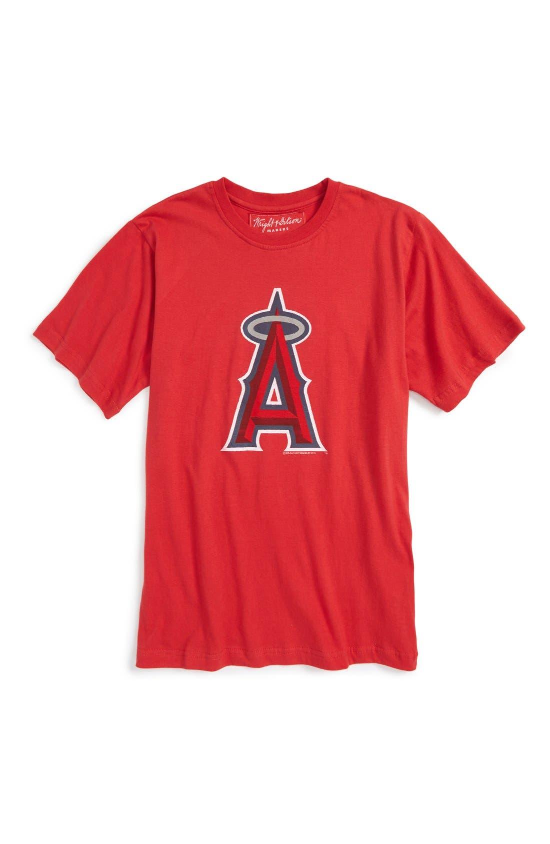 'Los Angeles Angels' T-Shirt,                             Main thumbnail 1, color,                             600