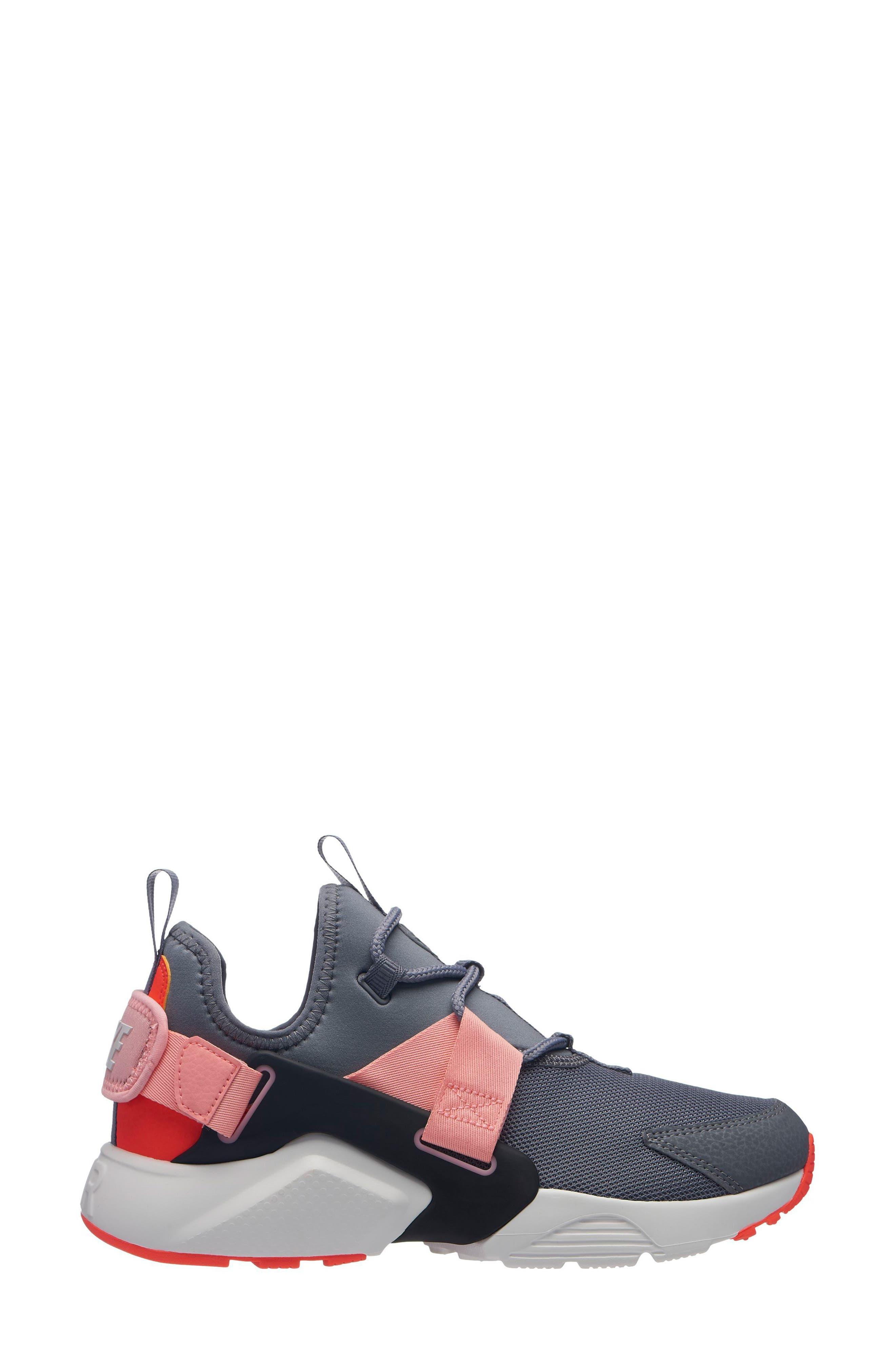 Air Huarache City Low Sneaker,                         Main,                         color, GREY
