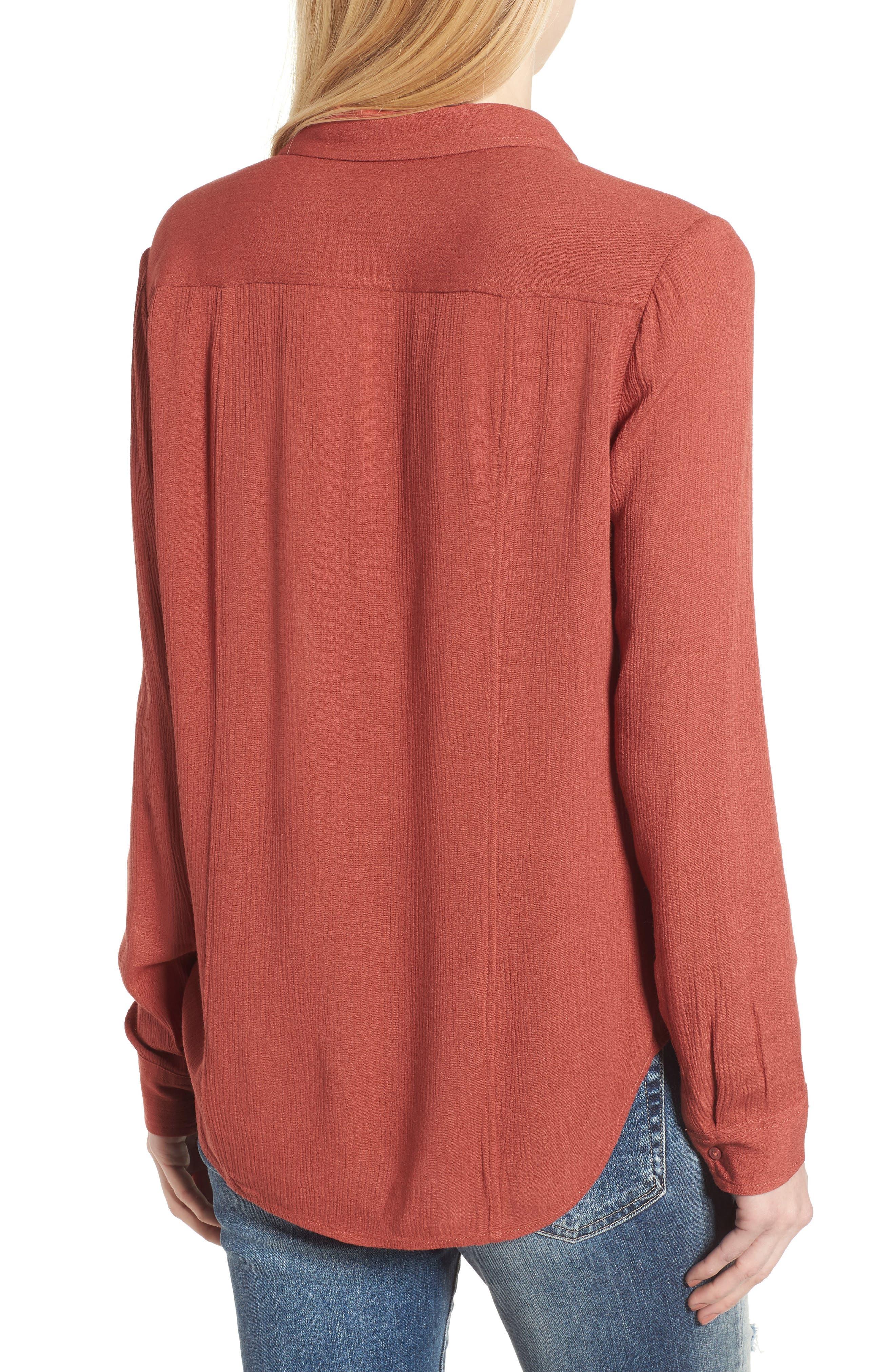 AG,                             Nevada Cotton Henley Shirt,                             Alternate thumbnail 2, color,                             600